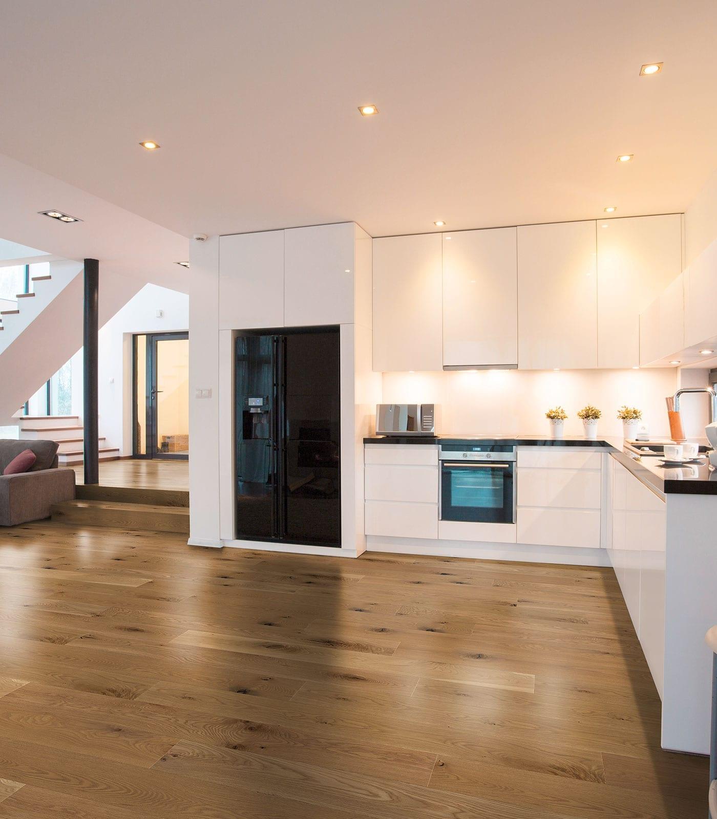 Alpine-Engineered European oak flooring