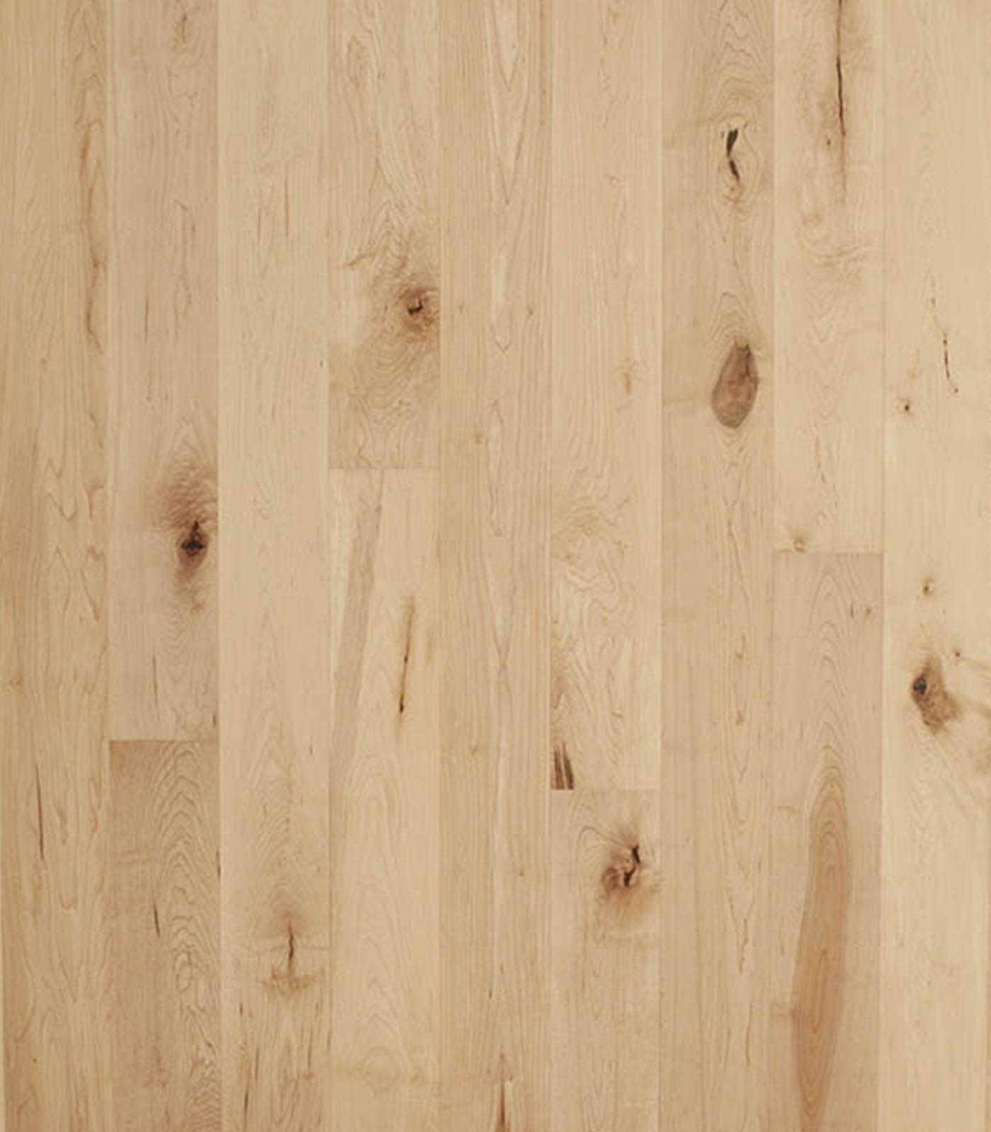 American rustic maple flooring