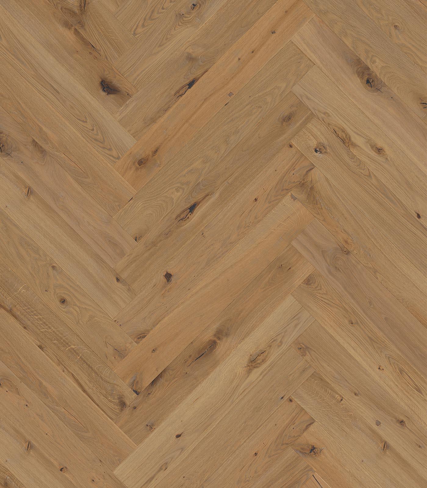 Fashion Collection-European Oak Herringbone floors-Barbados-flat