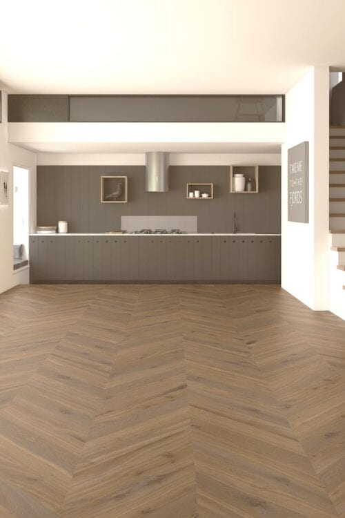 Bairritz-European Chevron Oak floors-Fashion collection-room