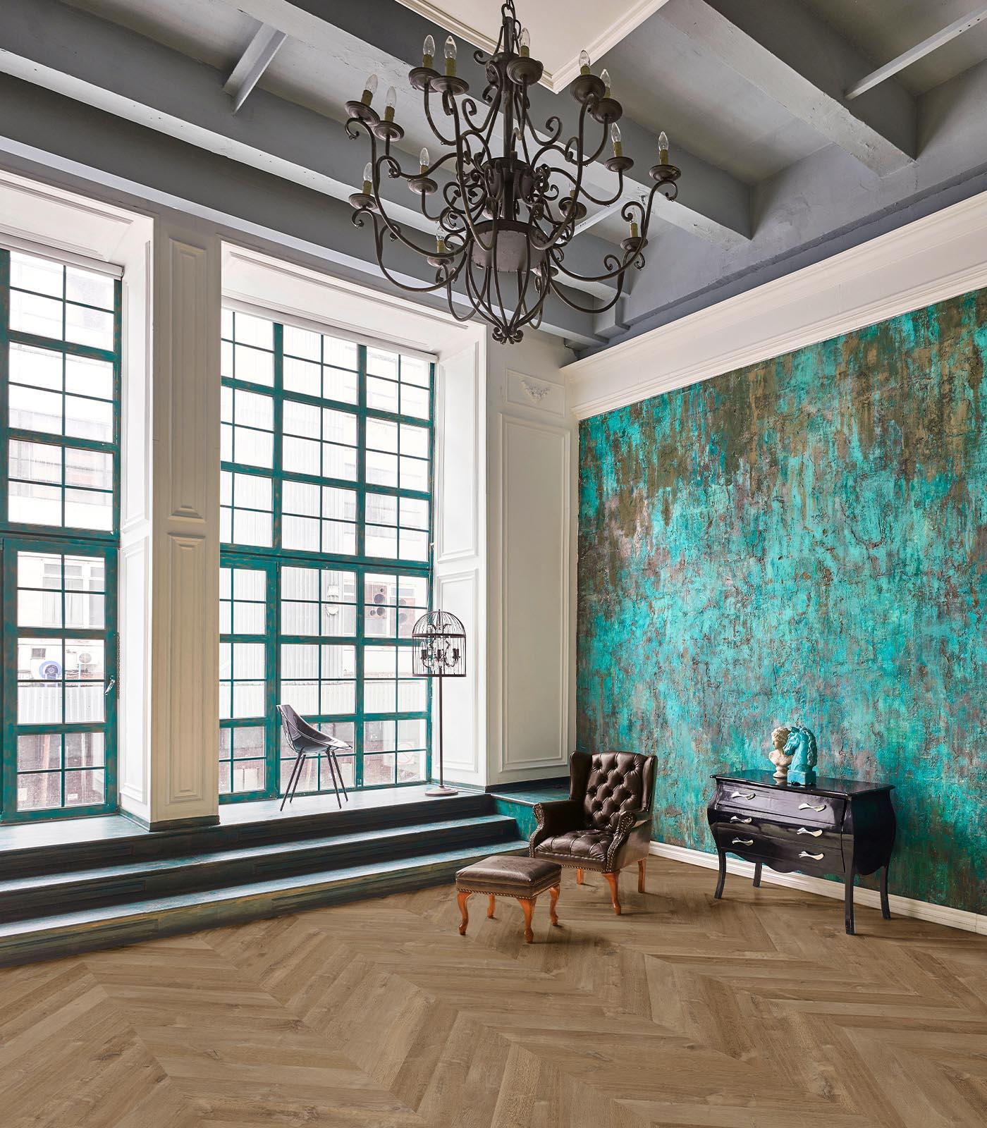 Bora Bora-Fashion Collection-European Oak Chevron floors