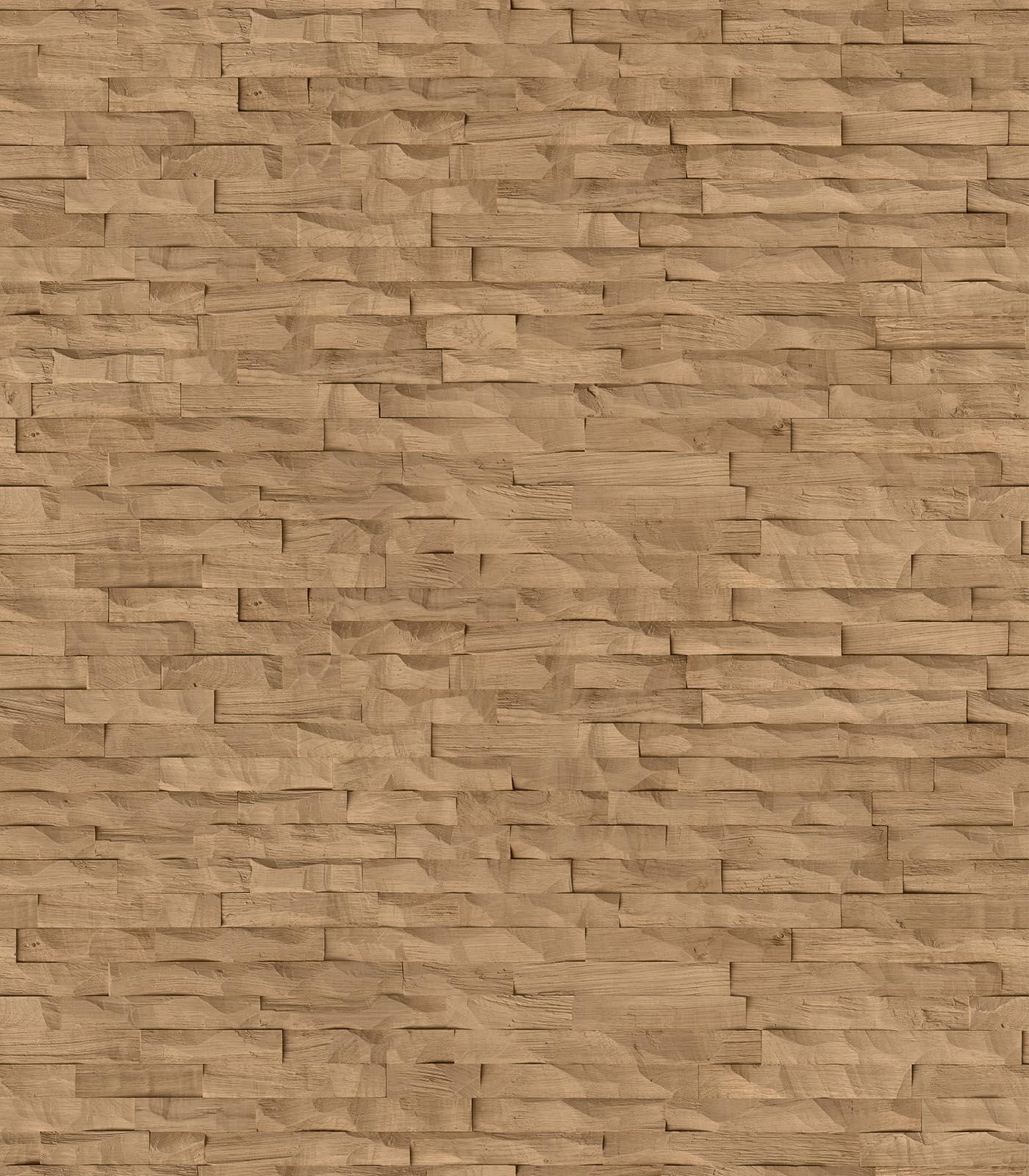 Diana-wall panelling-European Oak-flat