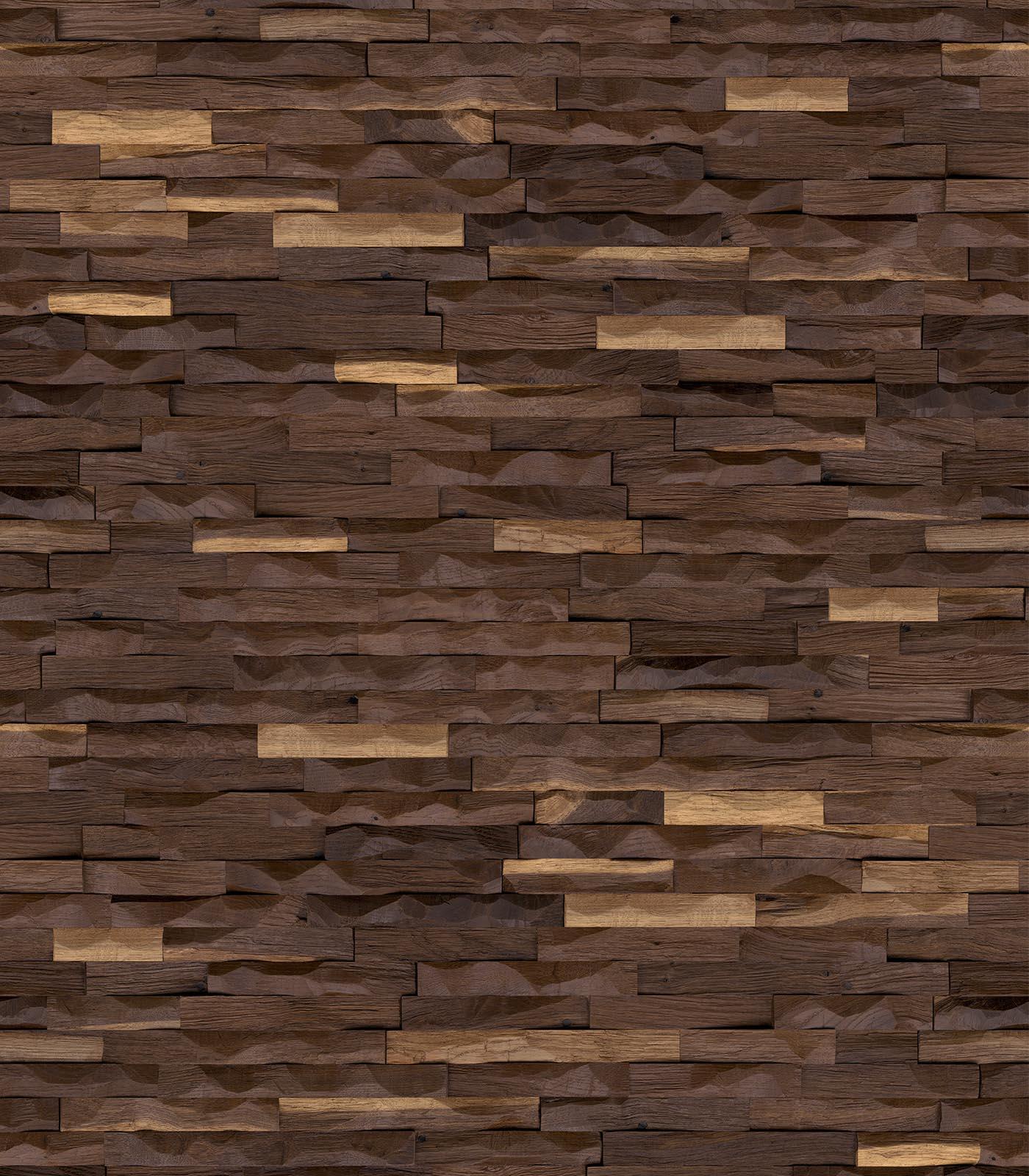 Dionysus-wall panelling-European Oak-flat
