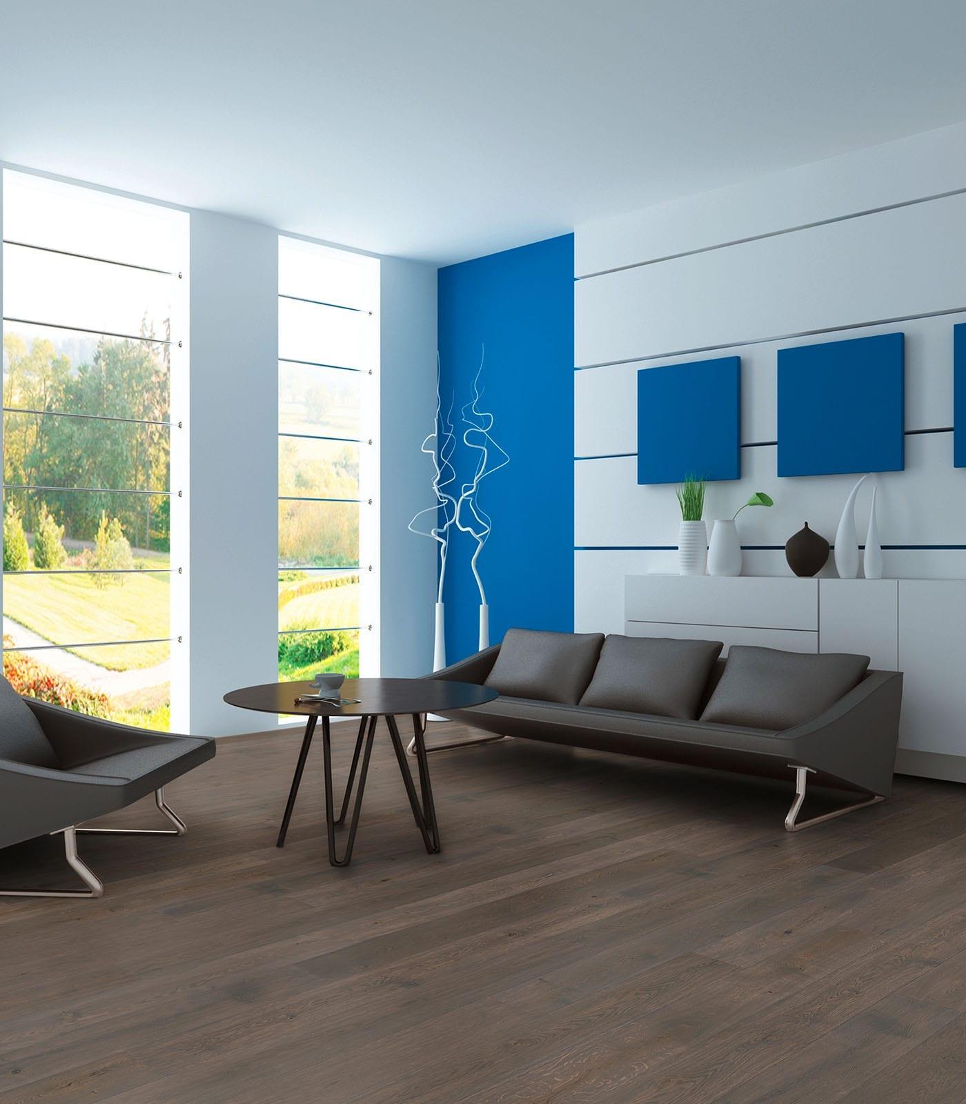 Driftwood-Engineered European oak flooring