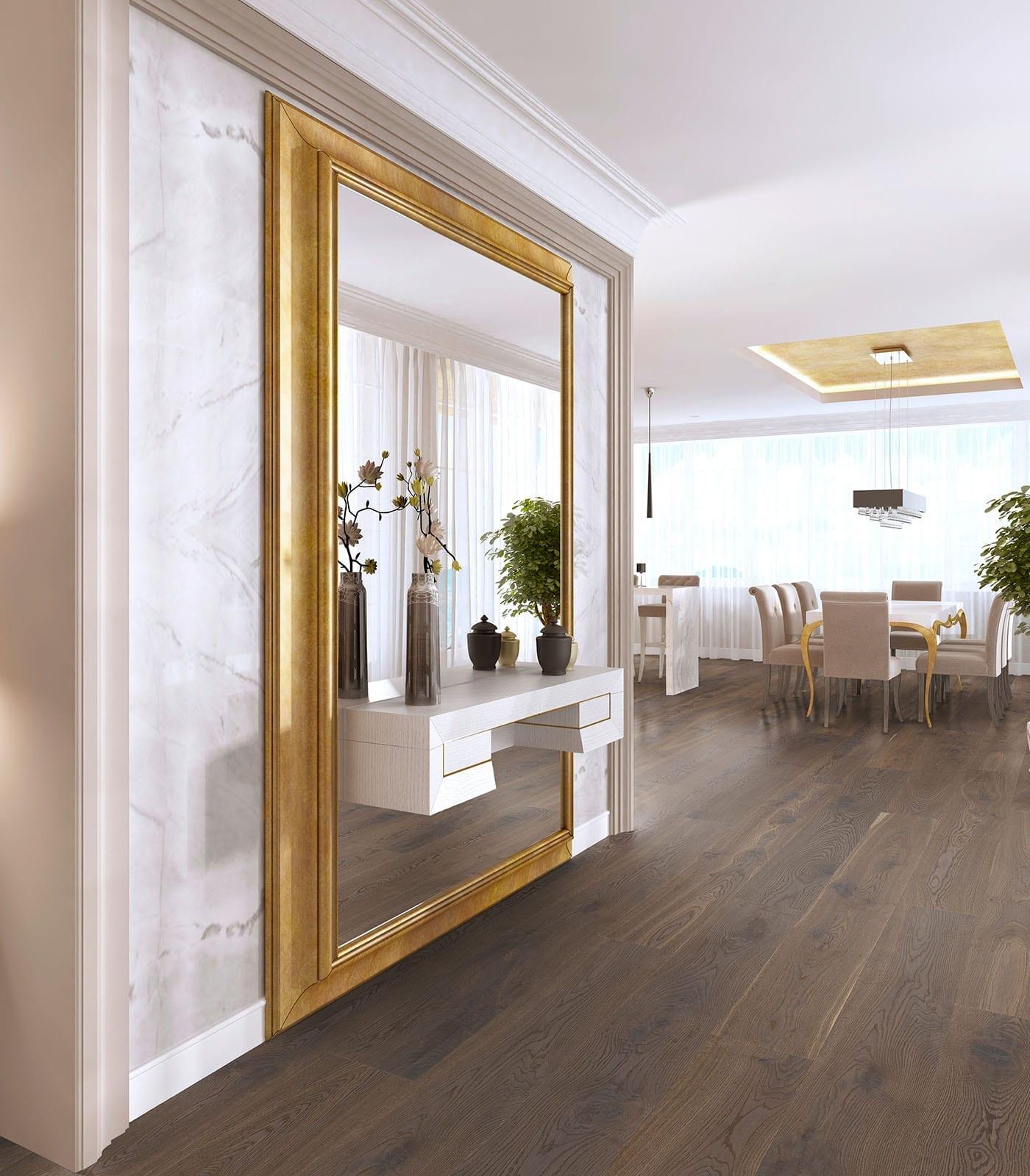 German Grey-European Oak Floors-Antique Collection