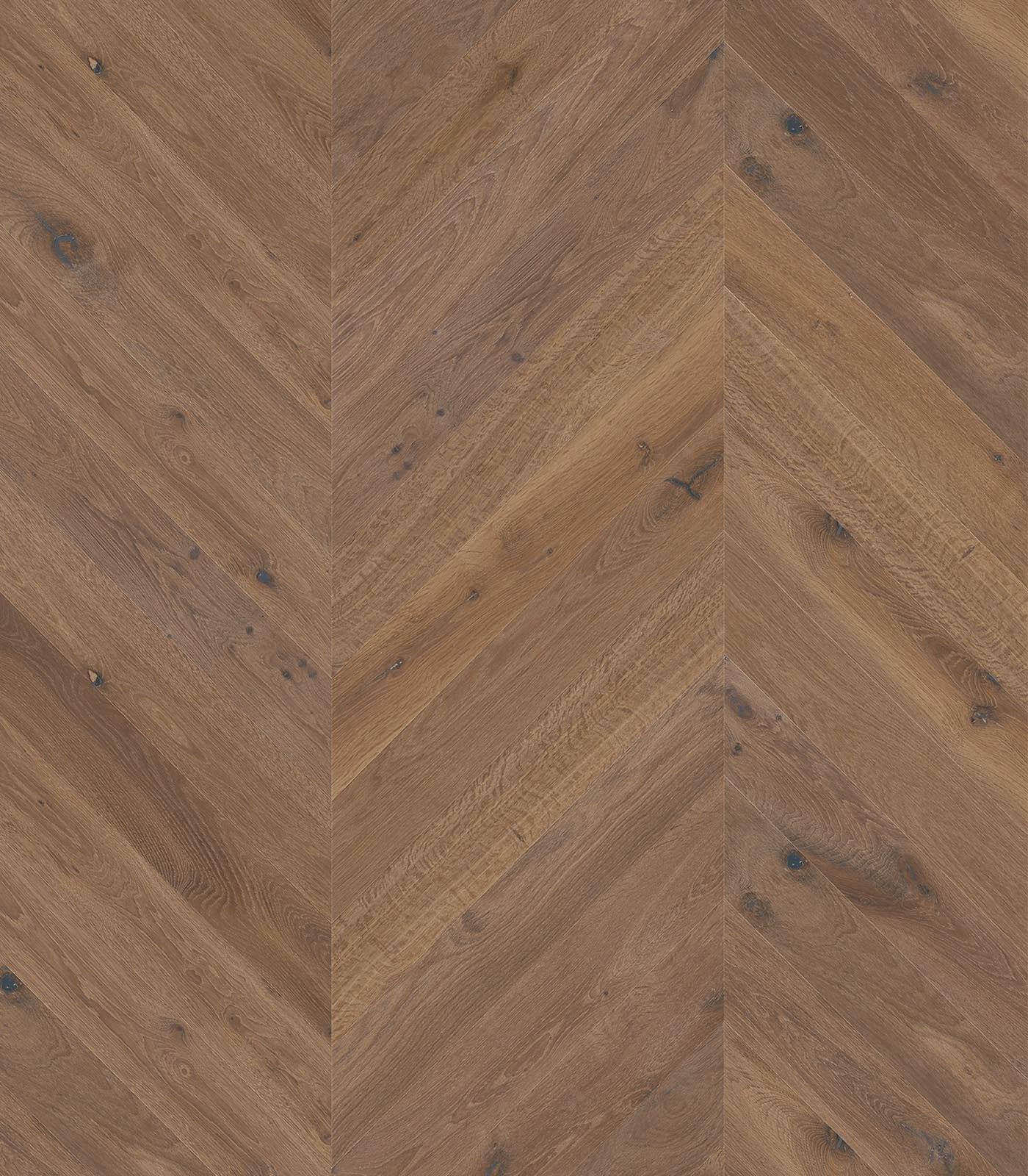European Chevron Oak floors-Fashion Collection-Anguilla-flat