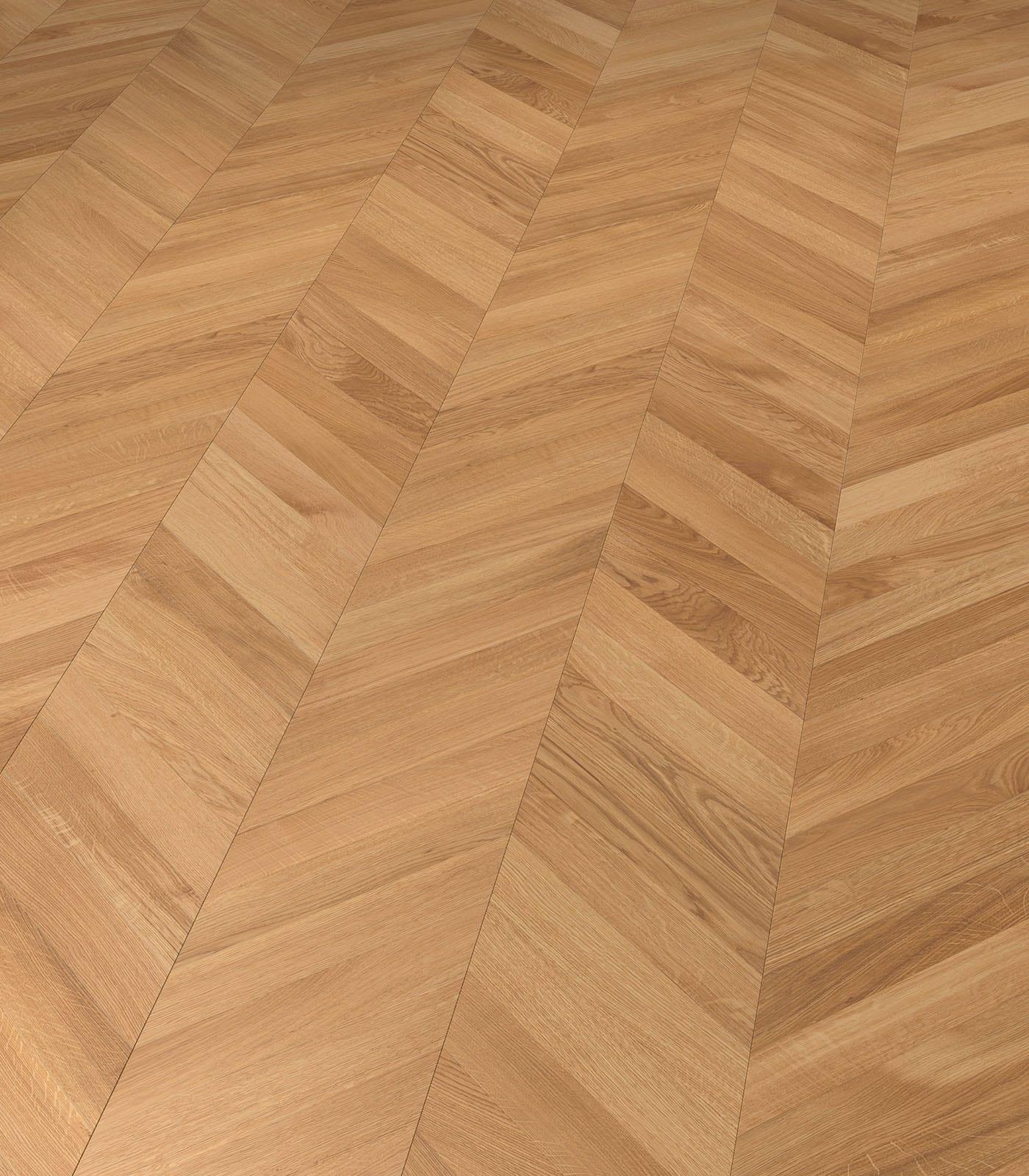 European Oak Chevron Connex floors-Fashion Collection-angle