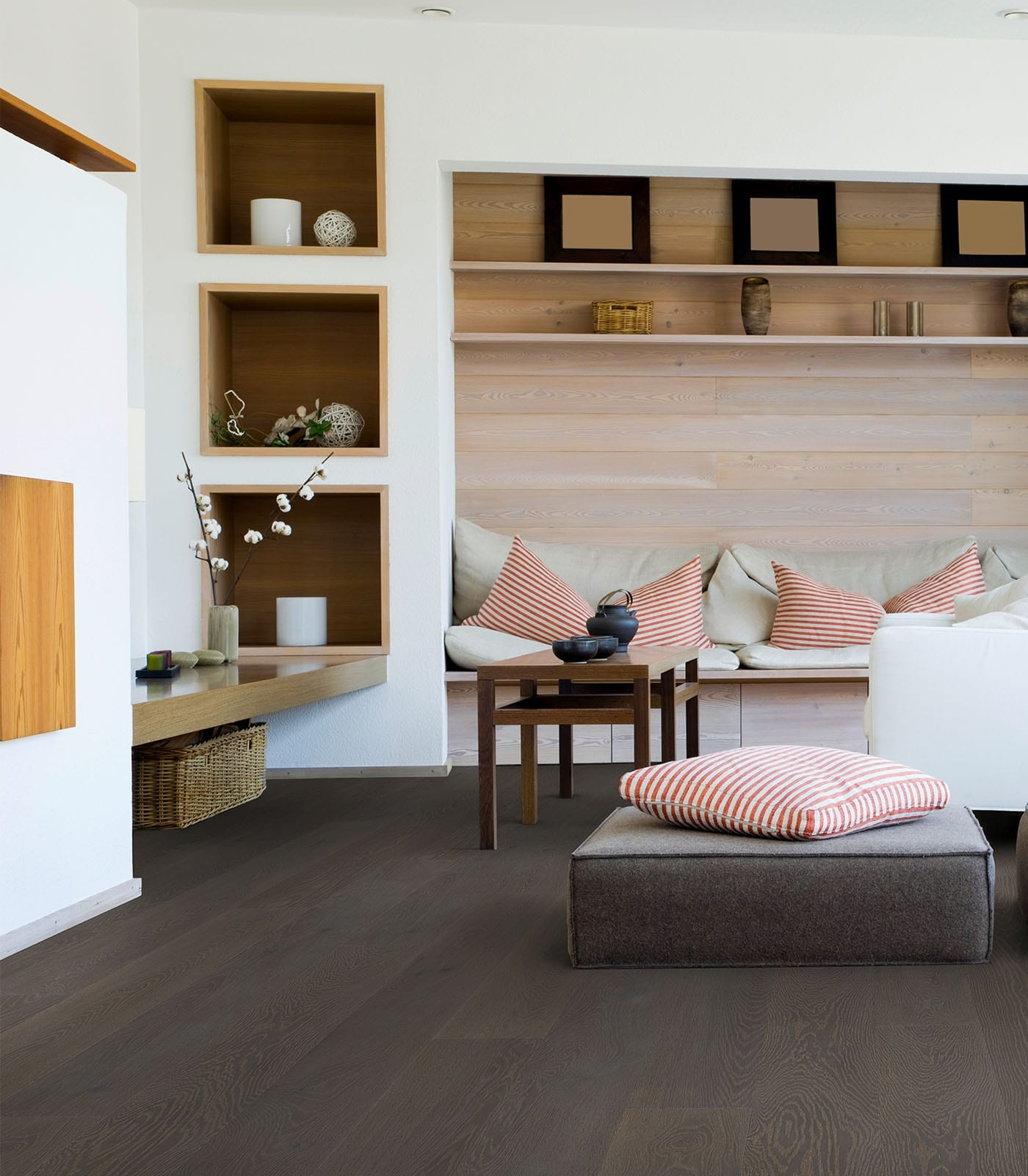 Grey Stone-Engineered Oak flooring