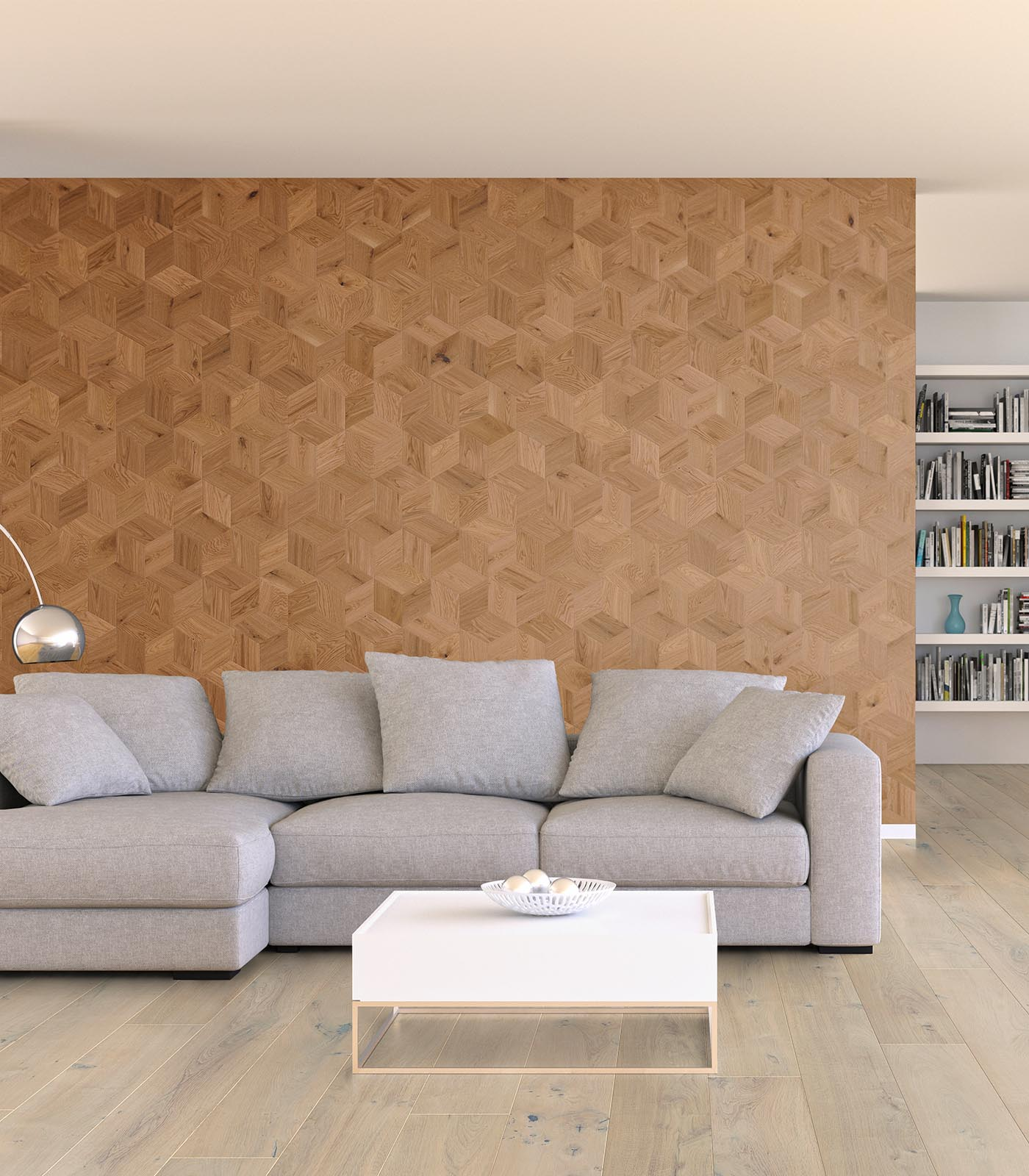 Hesti-Baroque Collection-Wall panelling-European Oak
