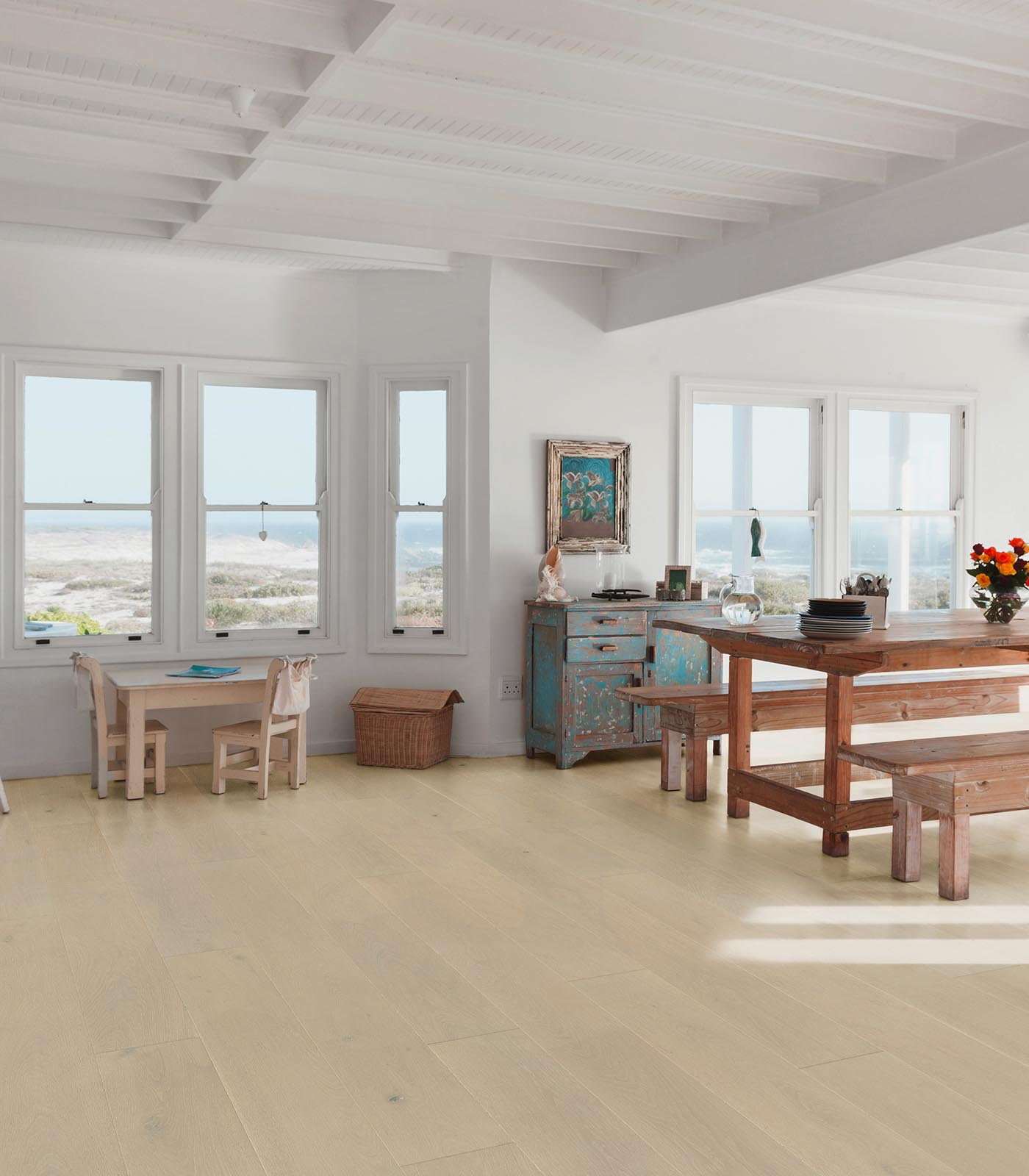 Ivory-Colors Collection-European Oak Floors-room