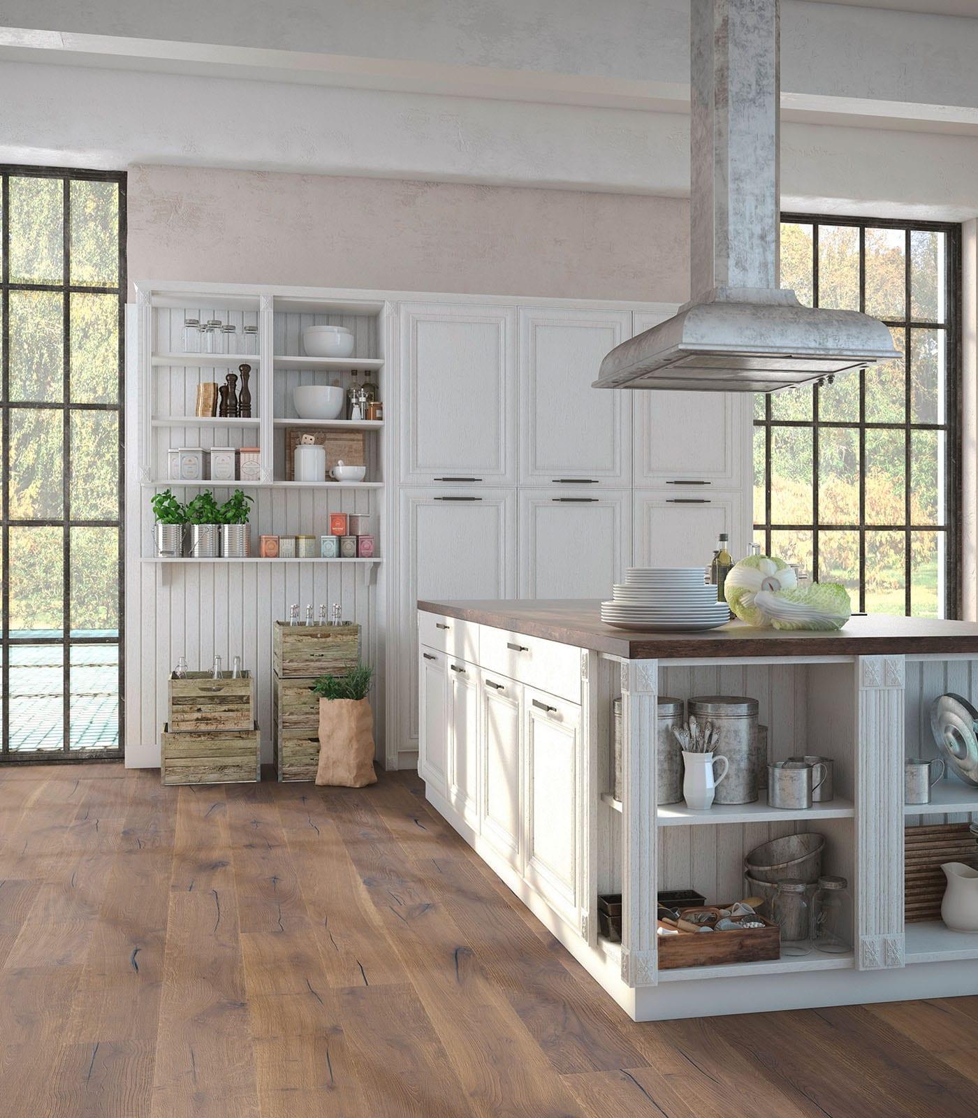 Karakoram-European engineered Oak flooring