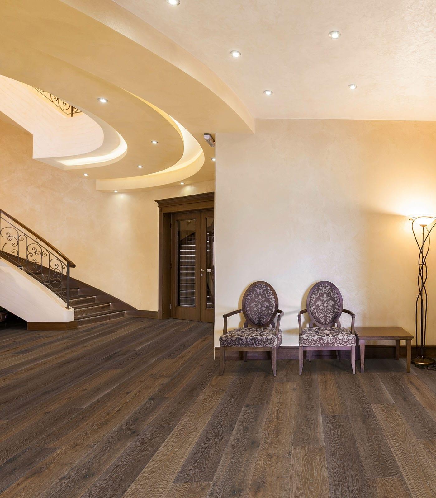 Laurentians-European engineered floors Oak-room
