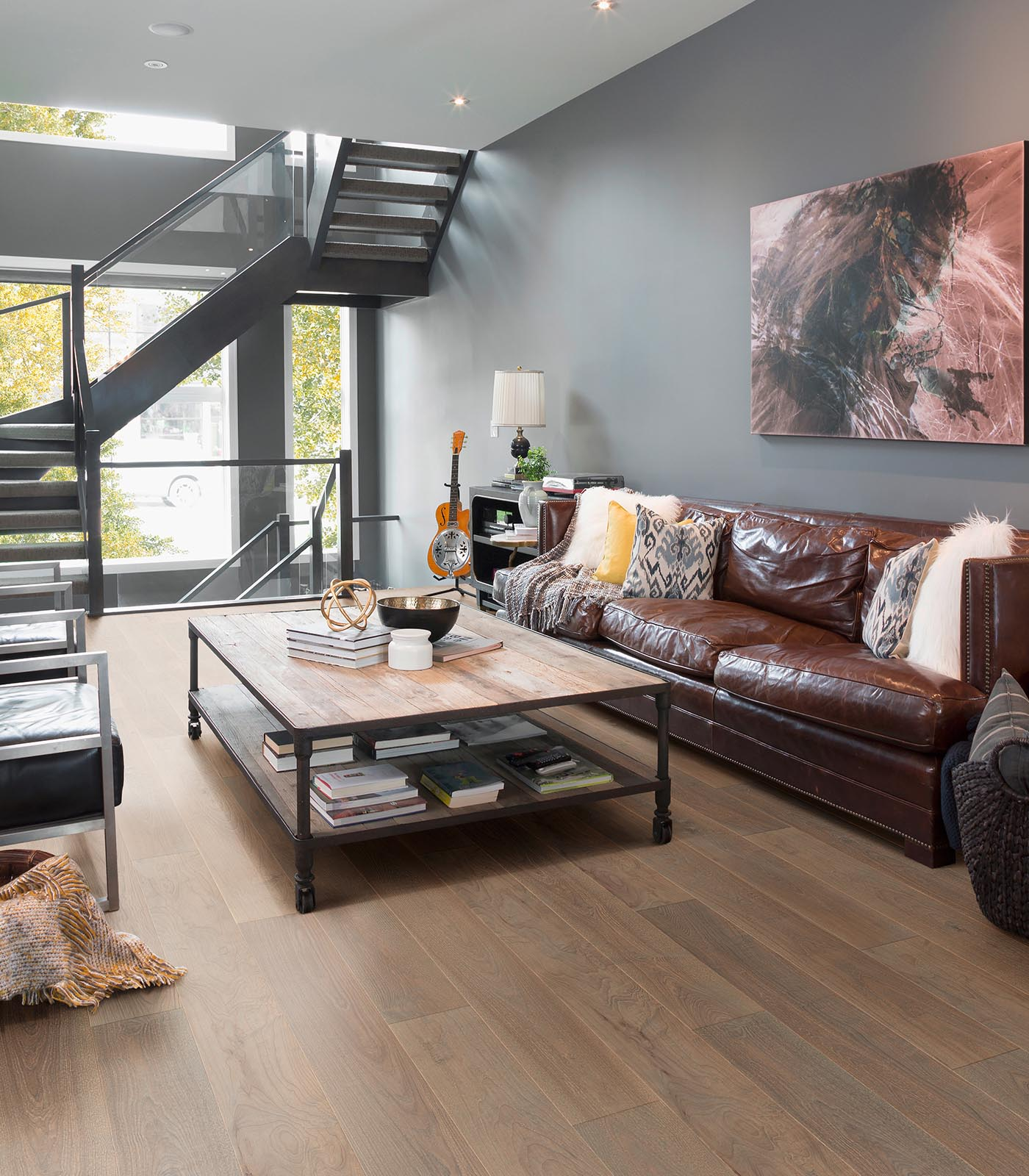 Lisbon-After Oak Collection-European Ash engineered Floors