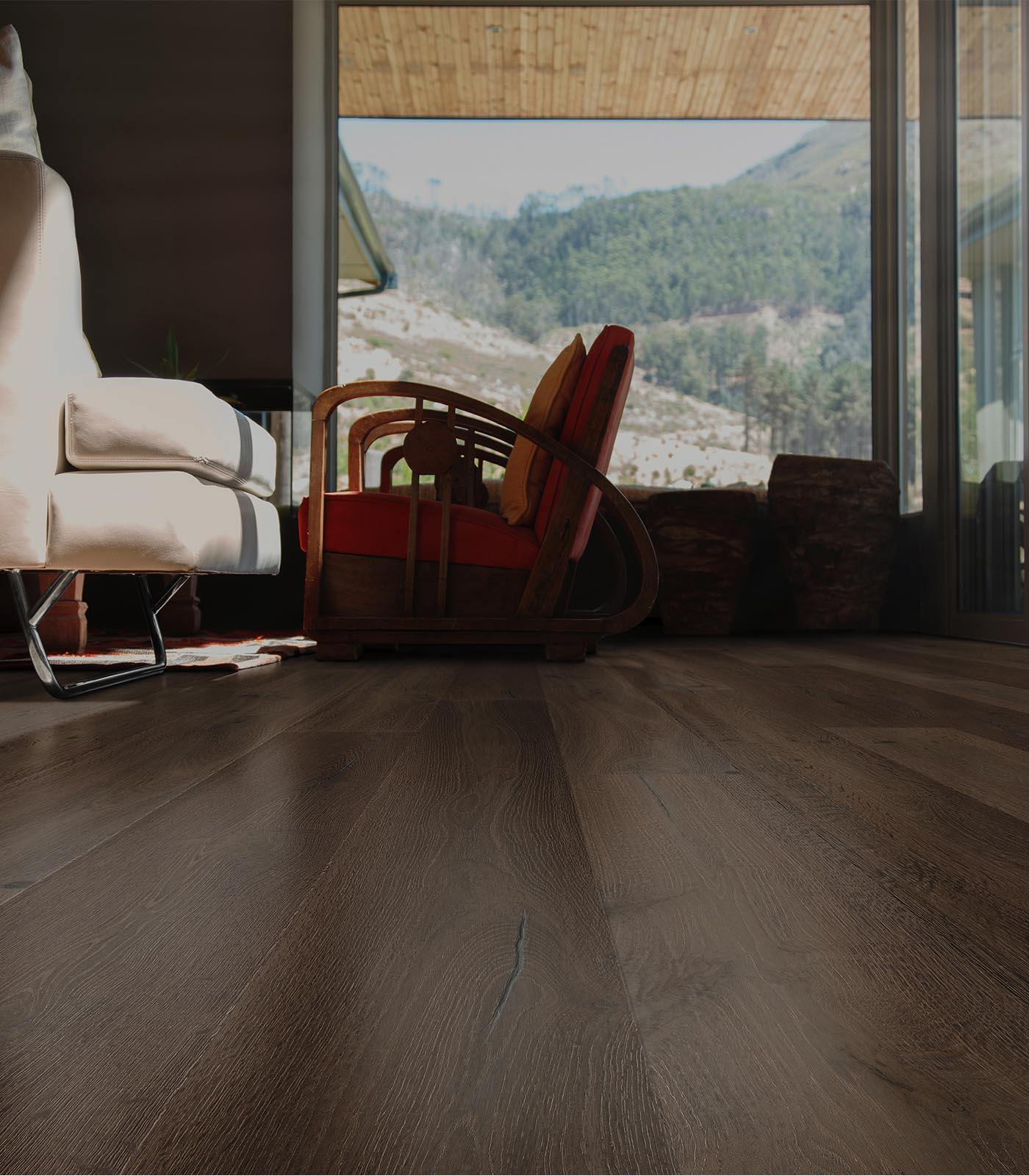 Mount Fuji-Antique Collection-European Oak floors-room
