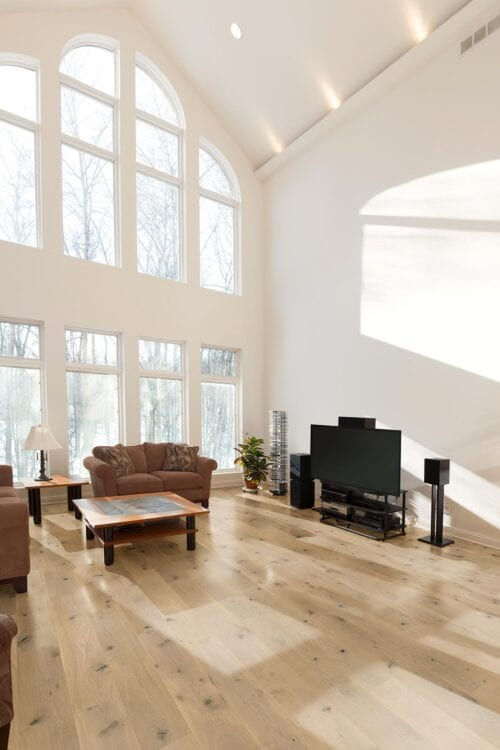 Neutrino-engineered European Oak flooring-room