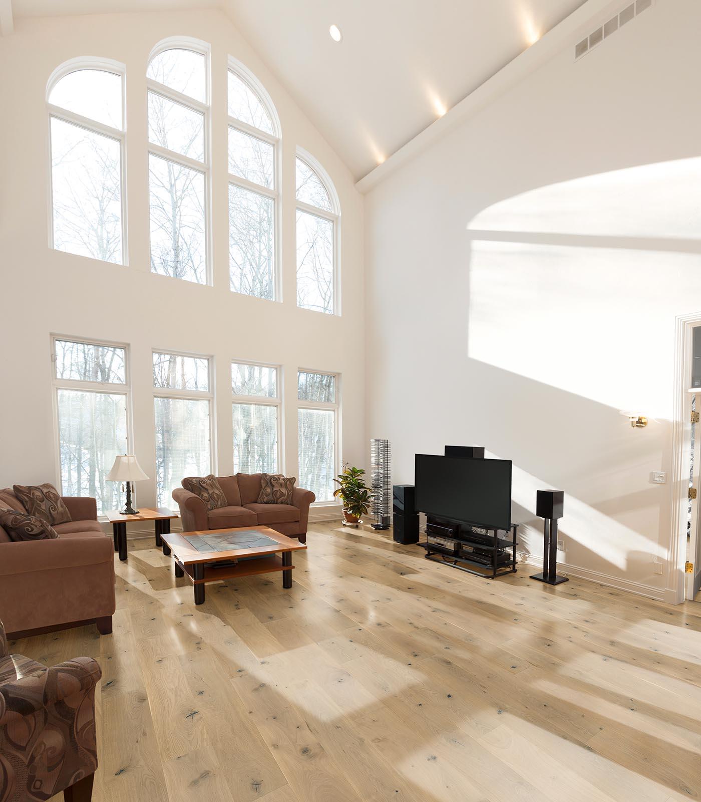 Neutrino-engineered European Oak flooring-room