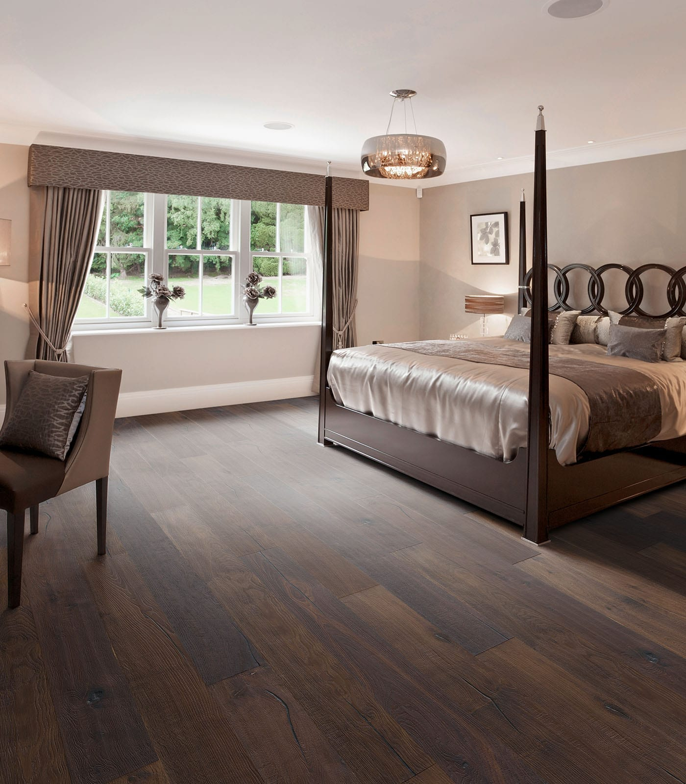 Pamirs-Antique collection-European oak flooring-room