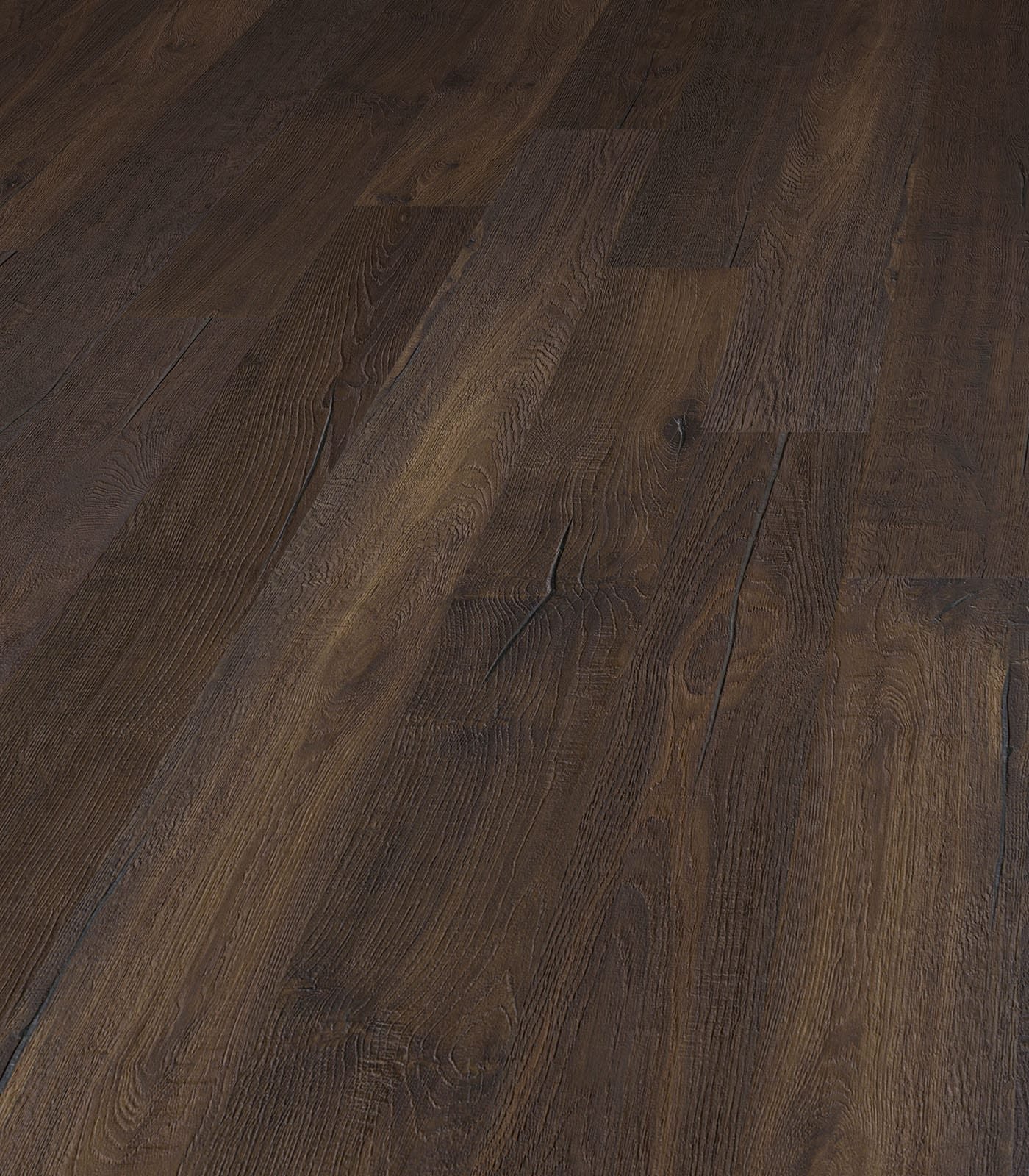 Pamirs-Antique collection-European oak flooring-angle