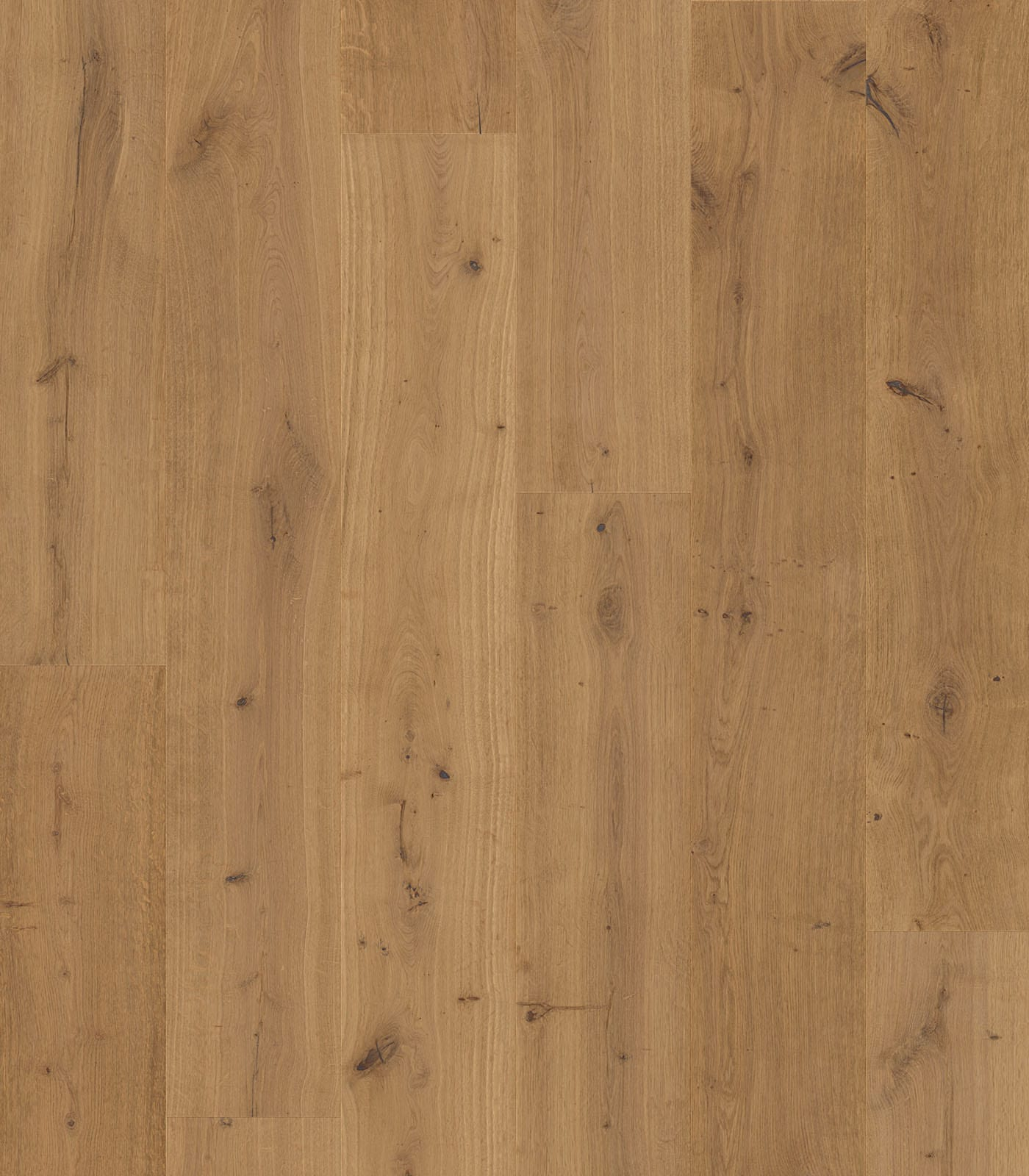 Semi-fumed Polos European Oak floors-Origins Collection-flat