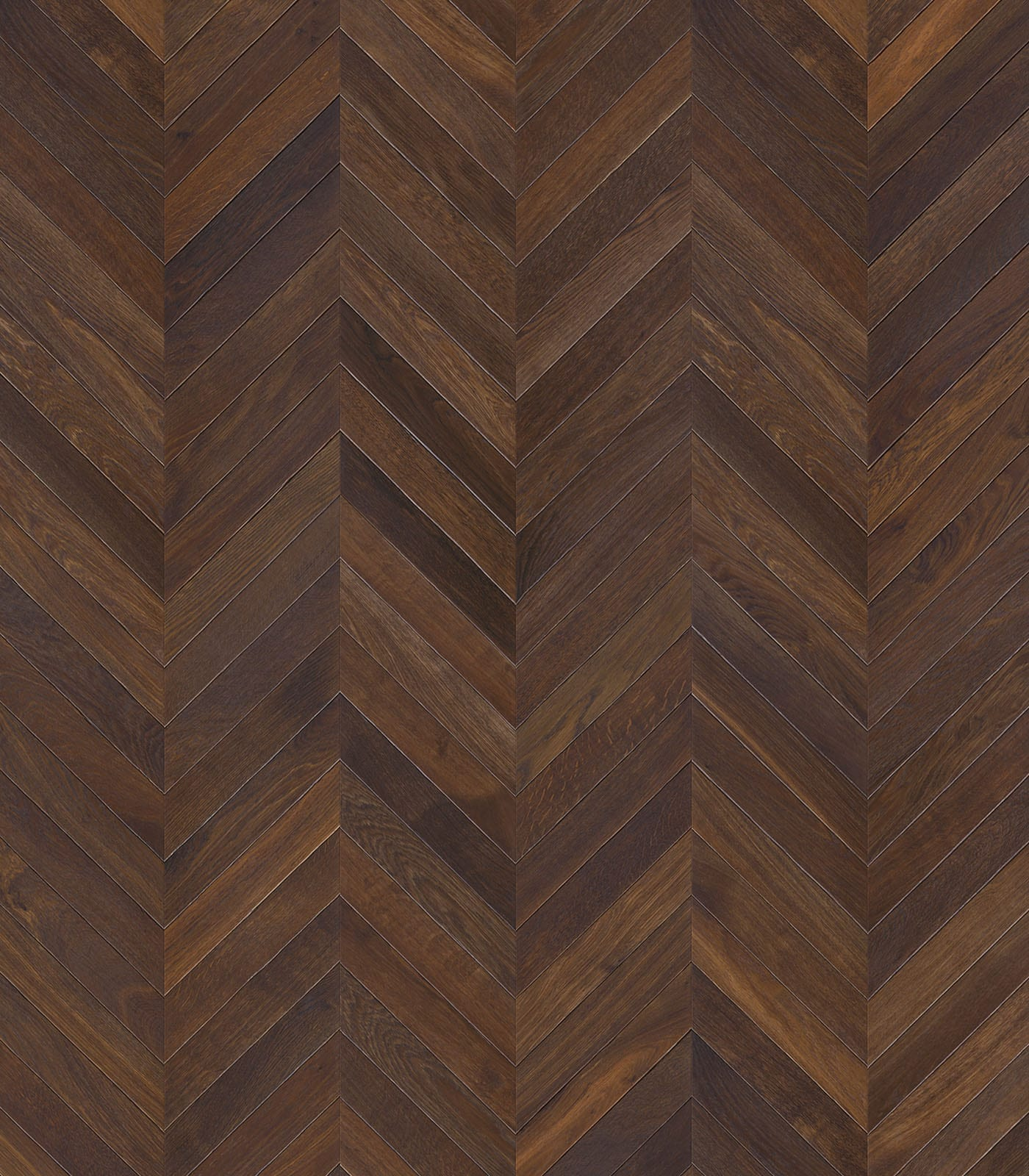 Fashion Collection-European Chevron Connex-Smoked Oak Floors-flat