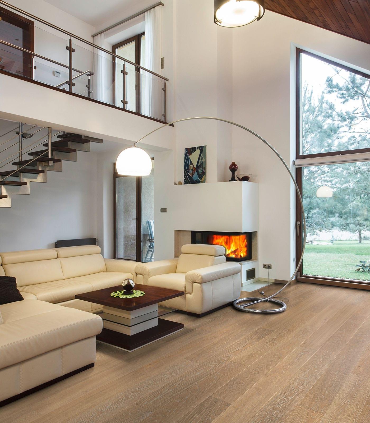 Spirit-engineered European Oak flooring-room