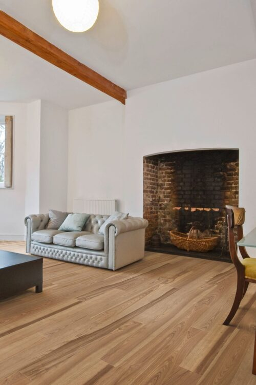 St Petersberg-engineered European Ash hardwood flooring