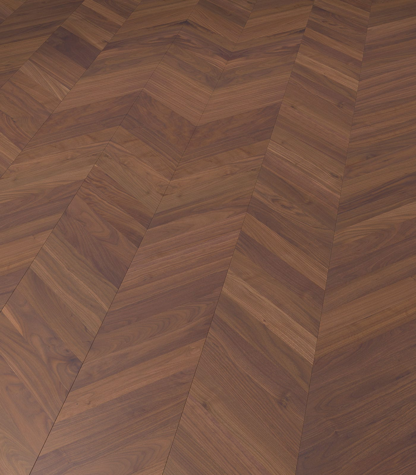 Fashion Collection-Chevron Walnut-engineered flooring-angle
