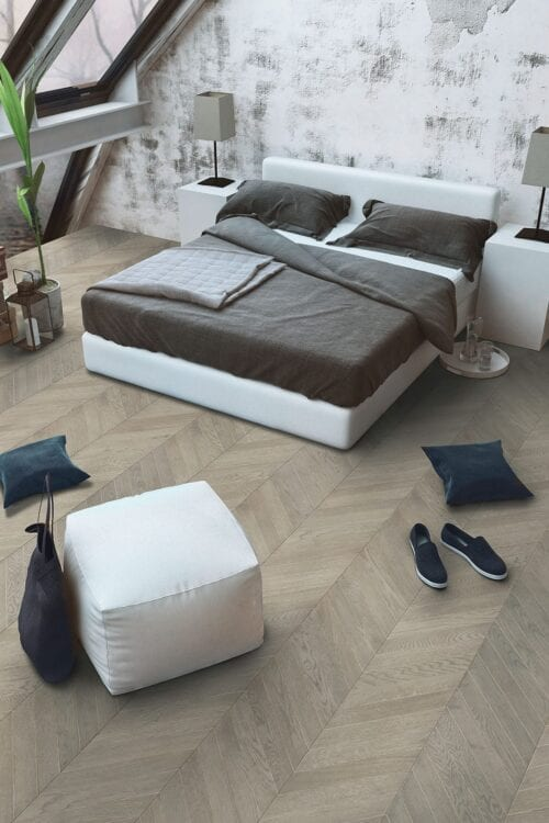 Zanzibar-Fashion collection-European Chevron Oak floors-room
