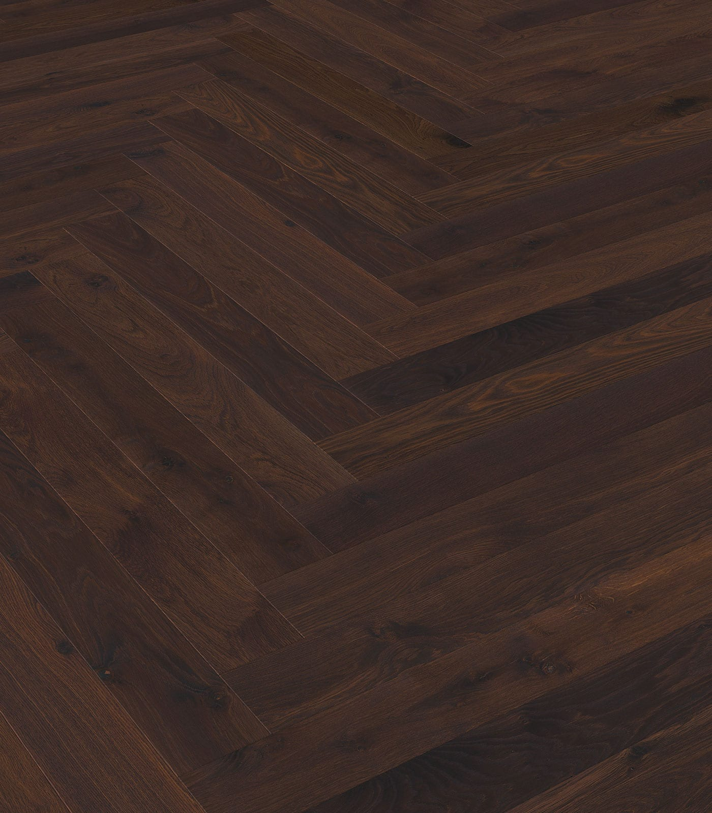 Fashion Collection-Chevron Smoked European Oak floors-angle