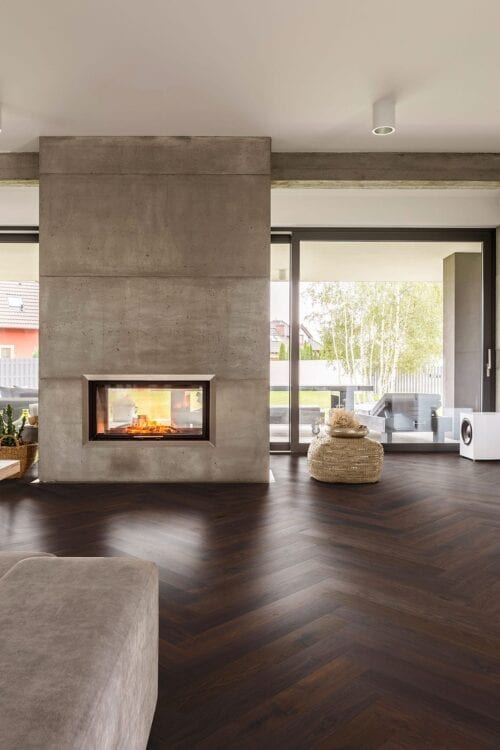 Fashion Collection-Chevron Smoked European Oak floors-room