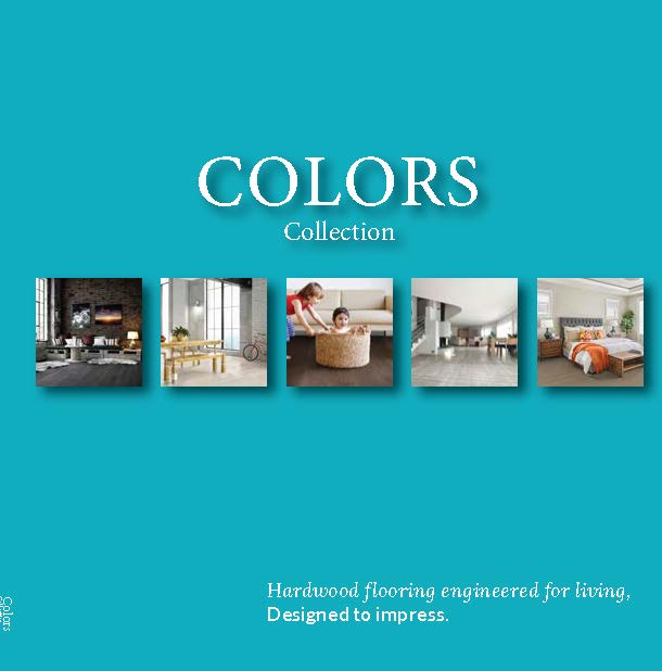 Forestry Timber Colors Collection Catalogue - Engineered European Oak flooring