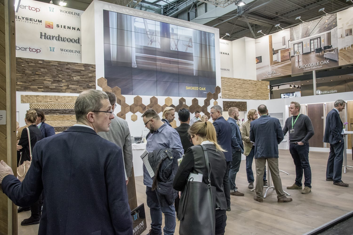 Domotex Exhitibiton Hannover 2019-Forestry Timber-15
