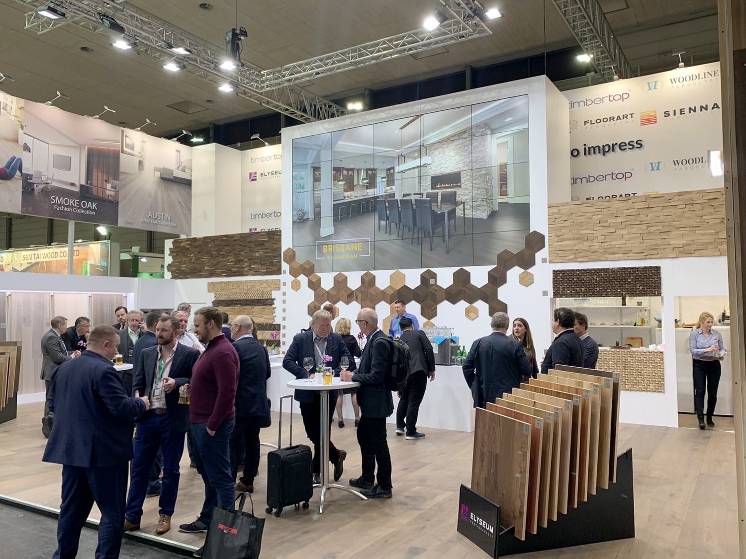 Domotex Exhitibiton Hannover 2019-Forestry Timber-02