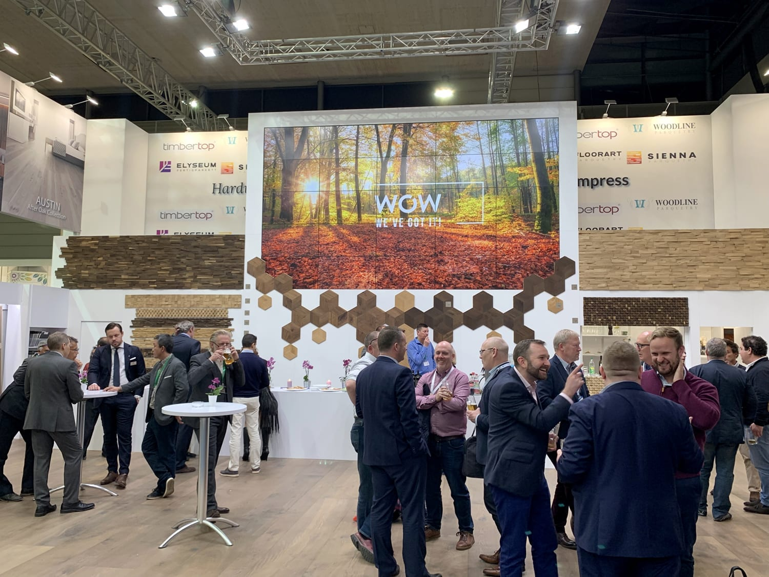 Domotex Exhitibiton Hannover 2019-Forestry Timber-03