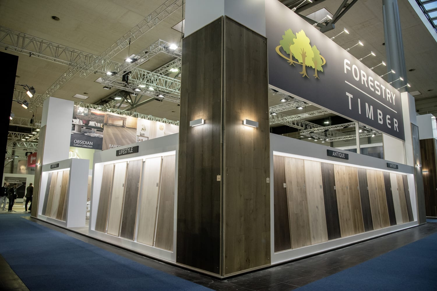 Domotex Exhitibiton Hannover 2019-Forestry Timber-38