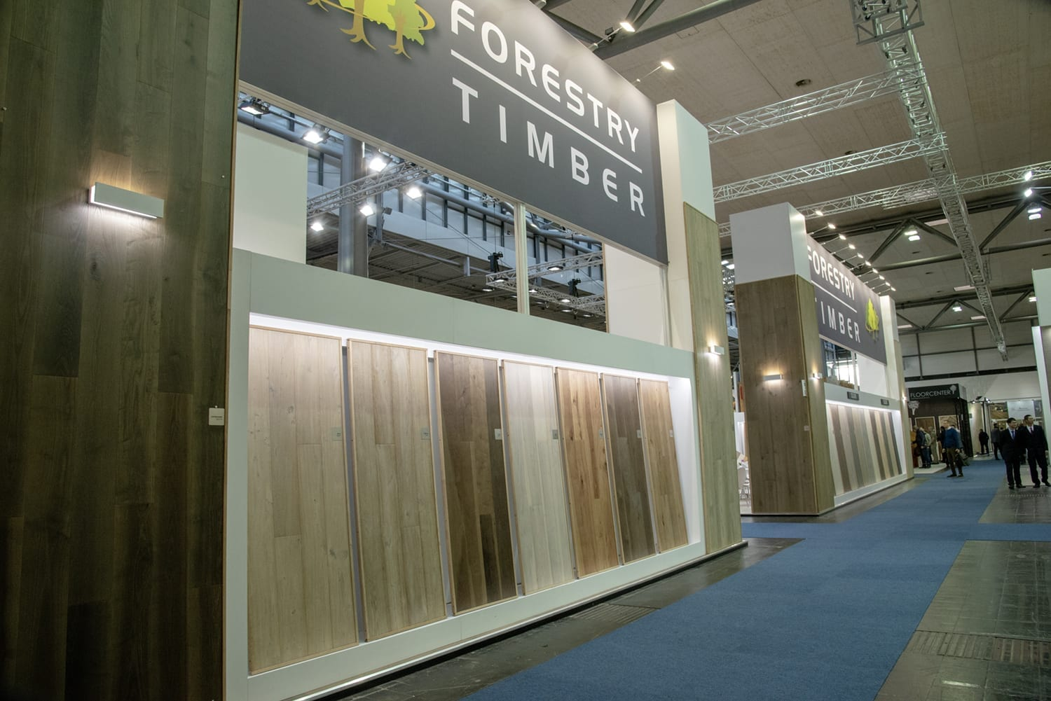 Domotex Exhitibiton Hannover 2019-Forestry Timber-39
