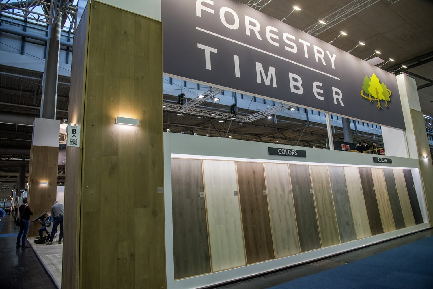 Domotex Exhitibiton Hannover 2019-Forestry Timber-40