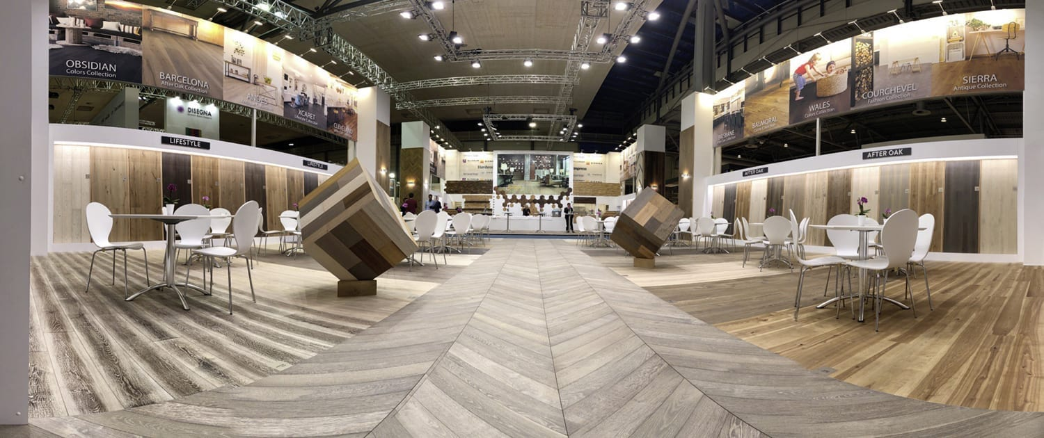 Domotex Exhitibiton Hannover 2019-Forestry Timber-43