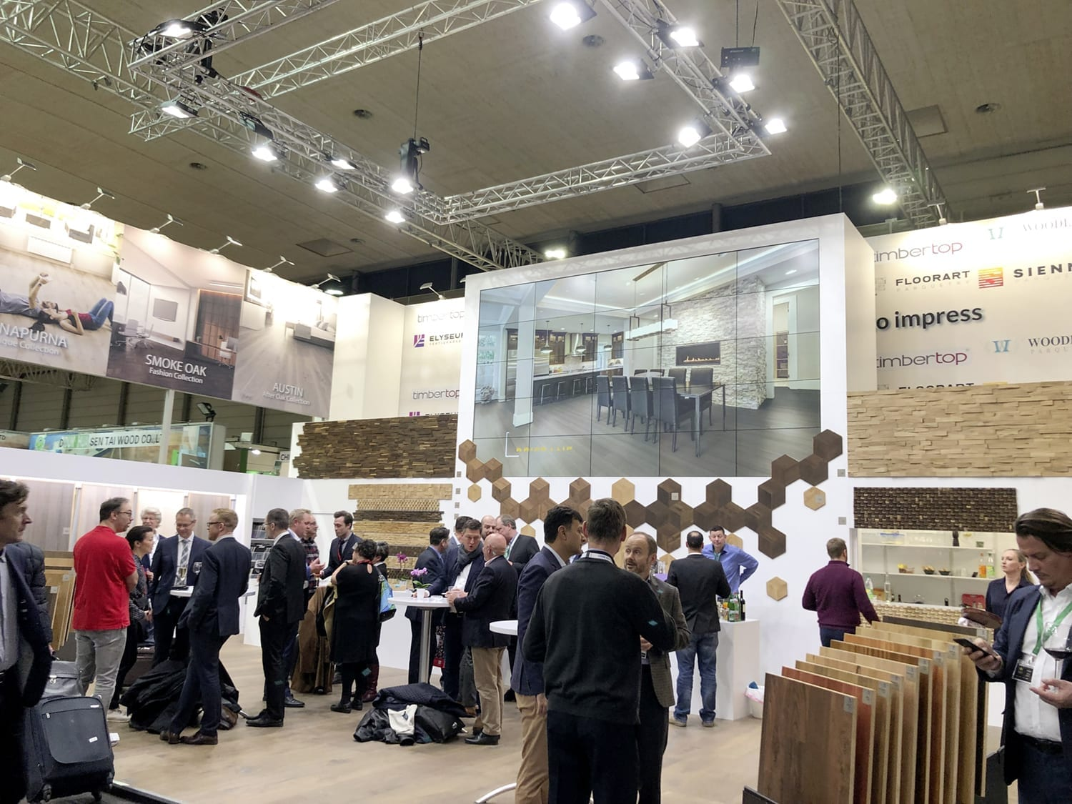 Domotex Exhitibiton Hannover 2019-Forestry Timber-49