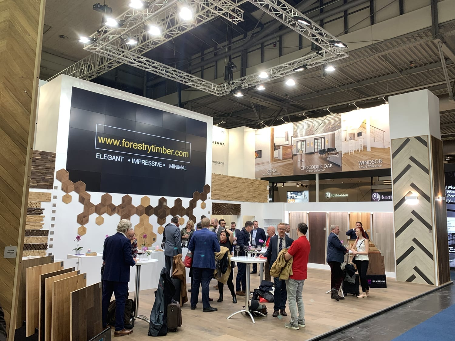 Domotex Exhitibiton Hannover 2019-Forestry Timber-05