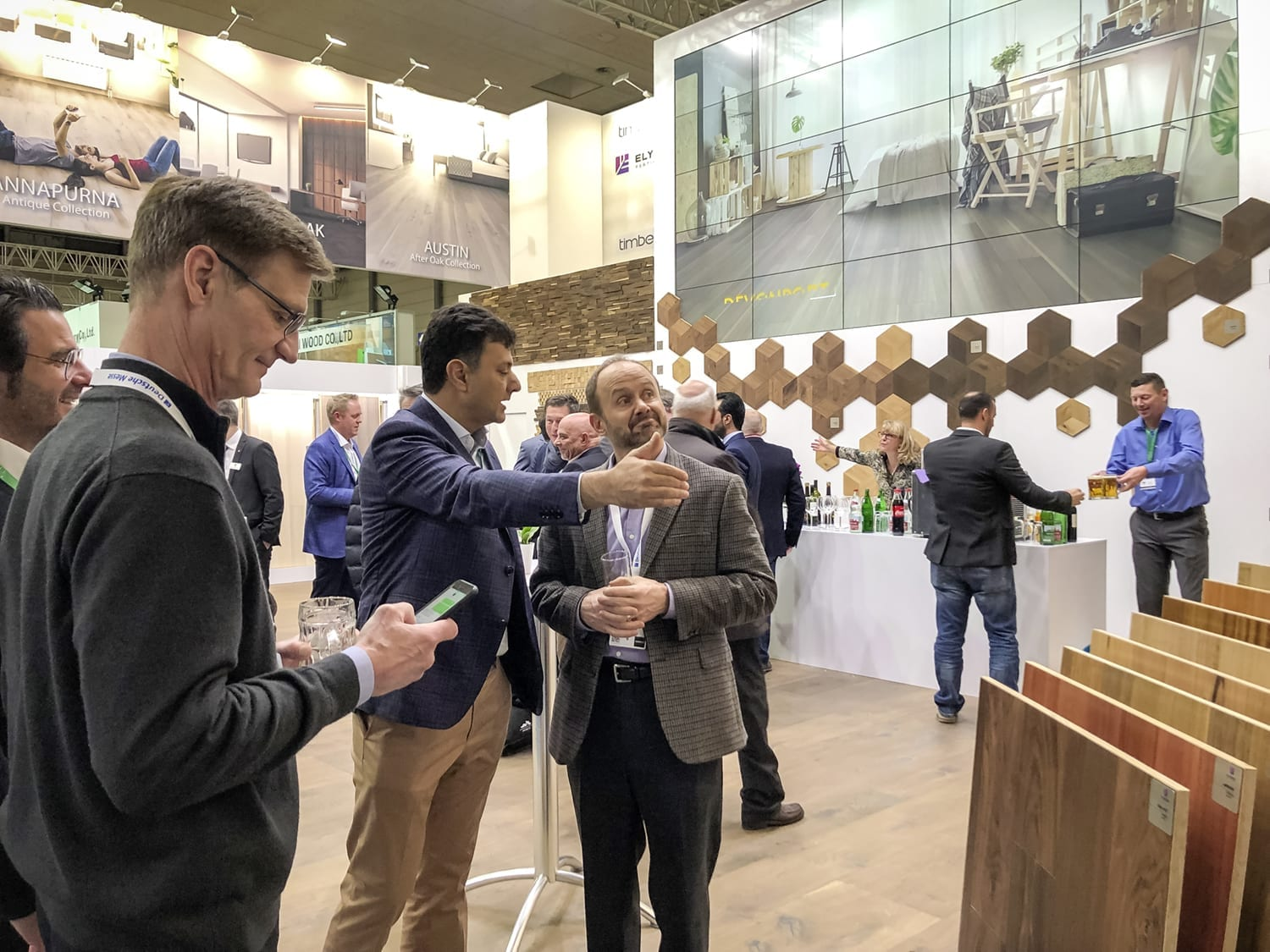 Domotex Exhitibiton Hannover 2019-Forestry Timber-50