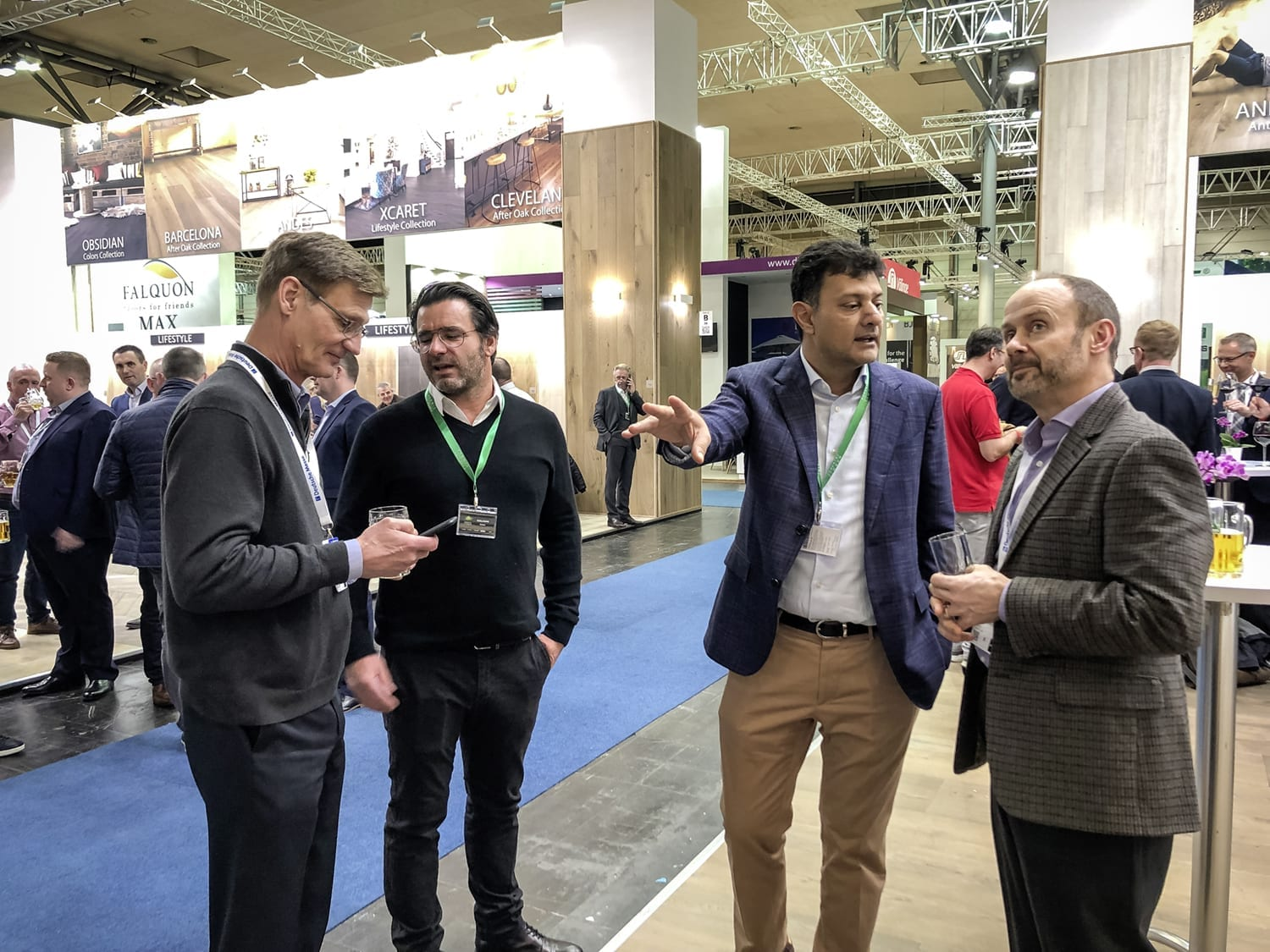Domotex Exhitibiton Hannover 2019-Forestry Timber-51