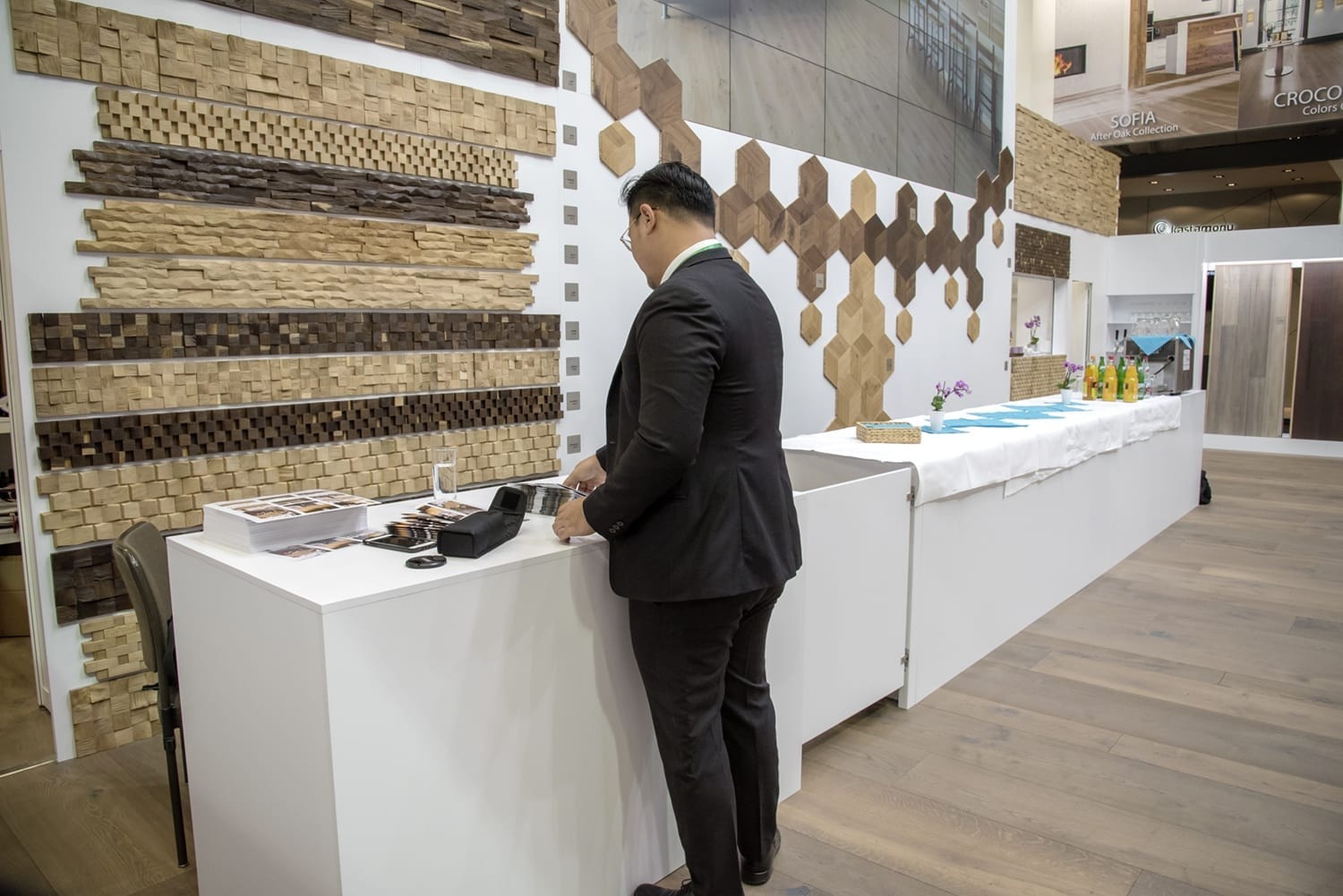 Domotex Exhitibiton Hannover 2019-Forestry Timber-06
