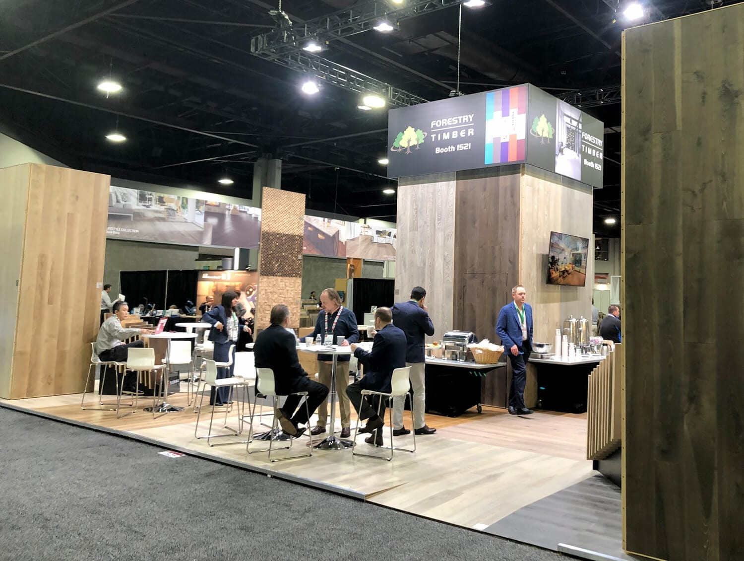 Domotex Exhibition Atlanta 2019 Forestry Timber-13