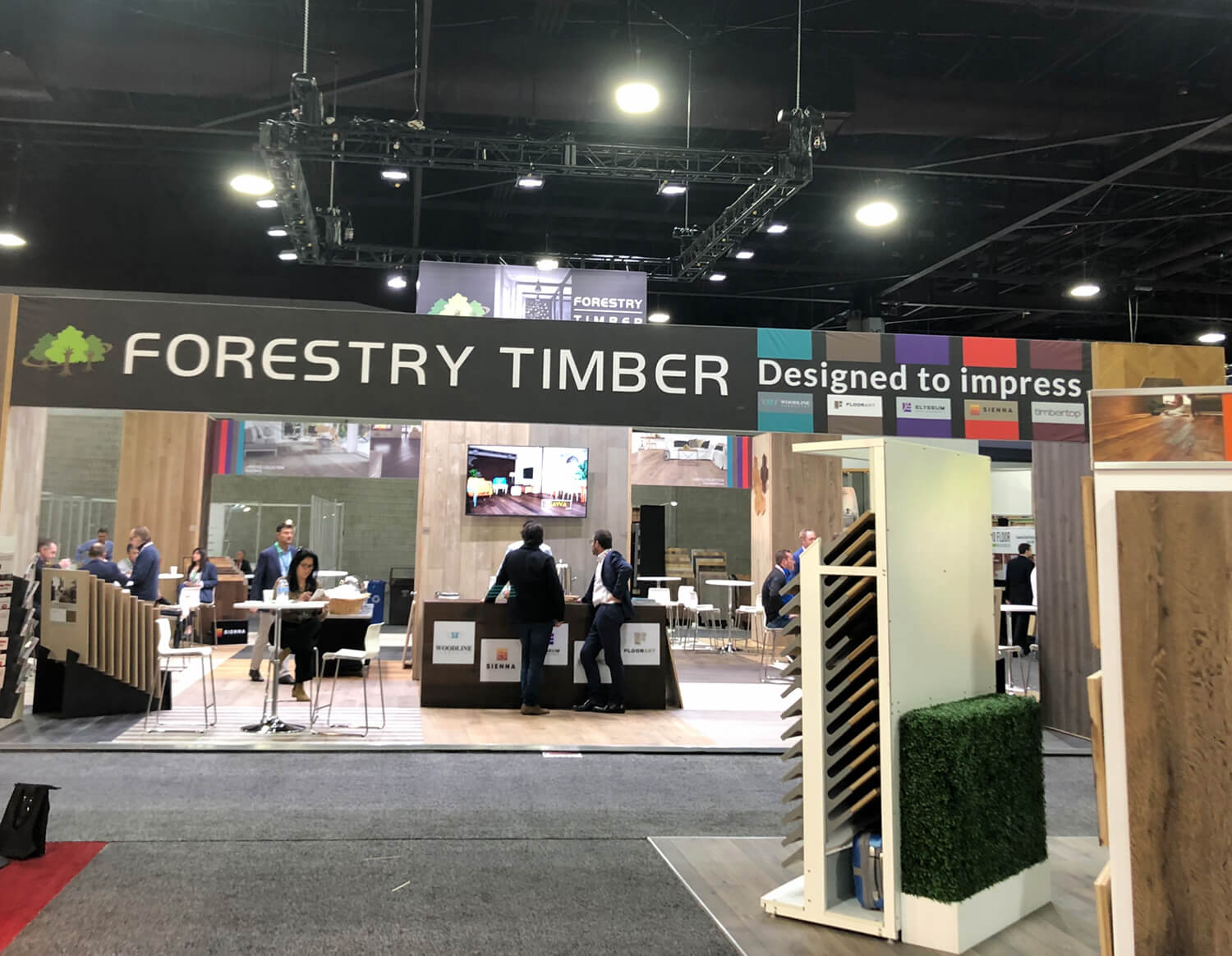 Domotex Exhibition Atlanta 2019 Forestry Timber-16