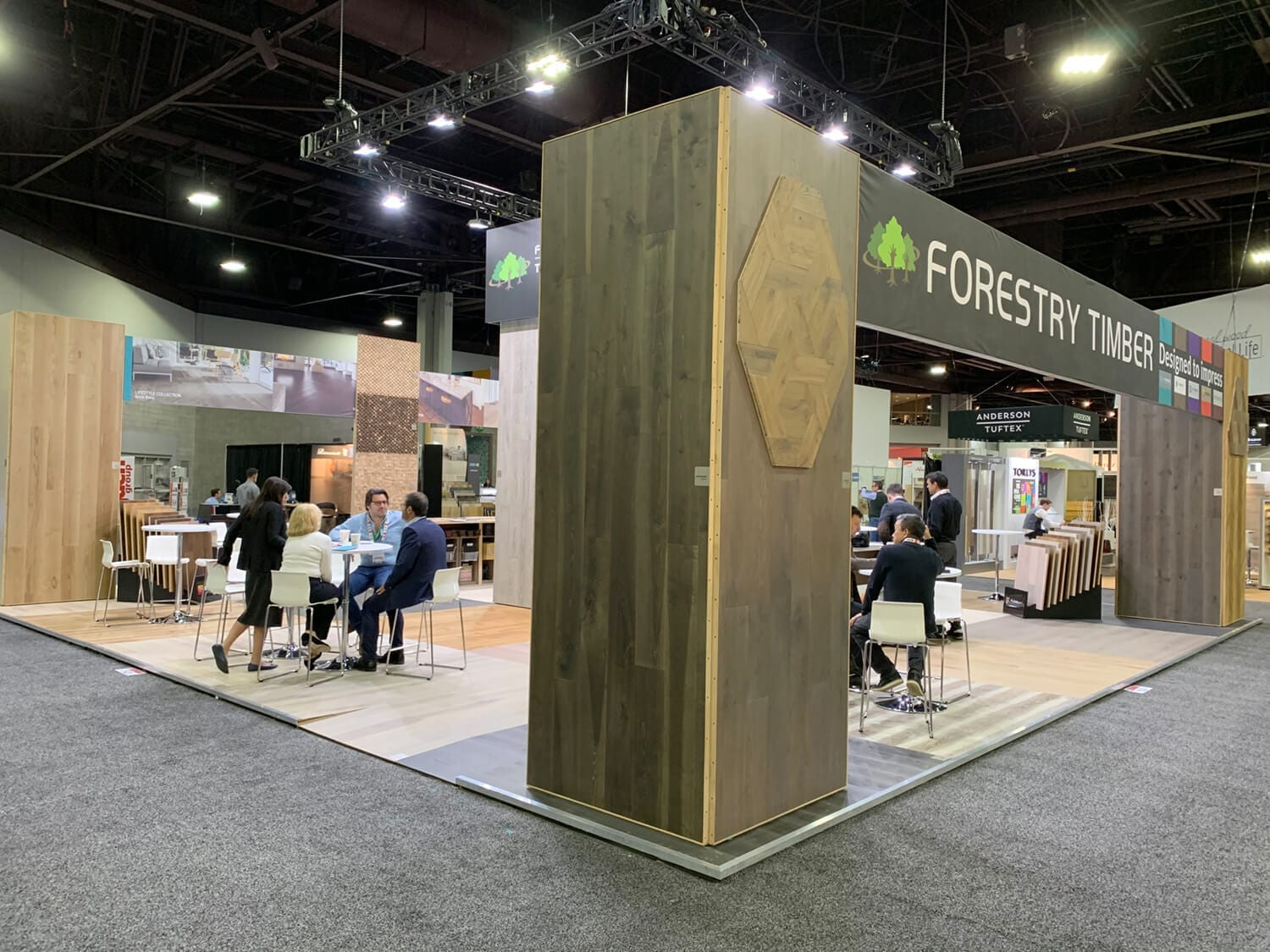 Domotex Exhibition Atlanta 2019 Forestry Timber-03