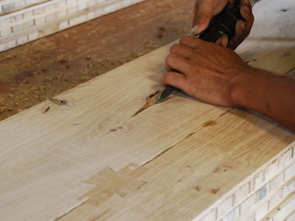 Forestry Timber handcrafted planks