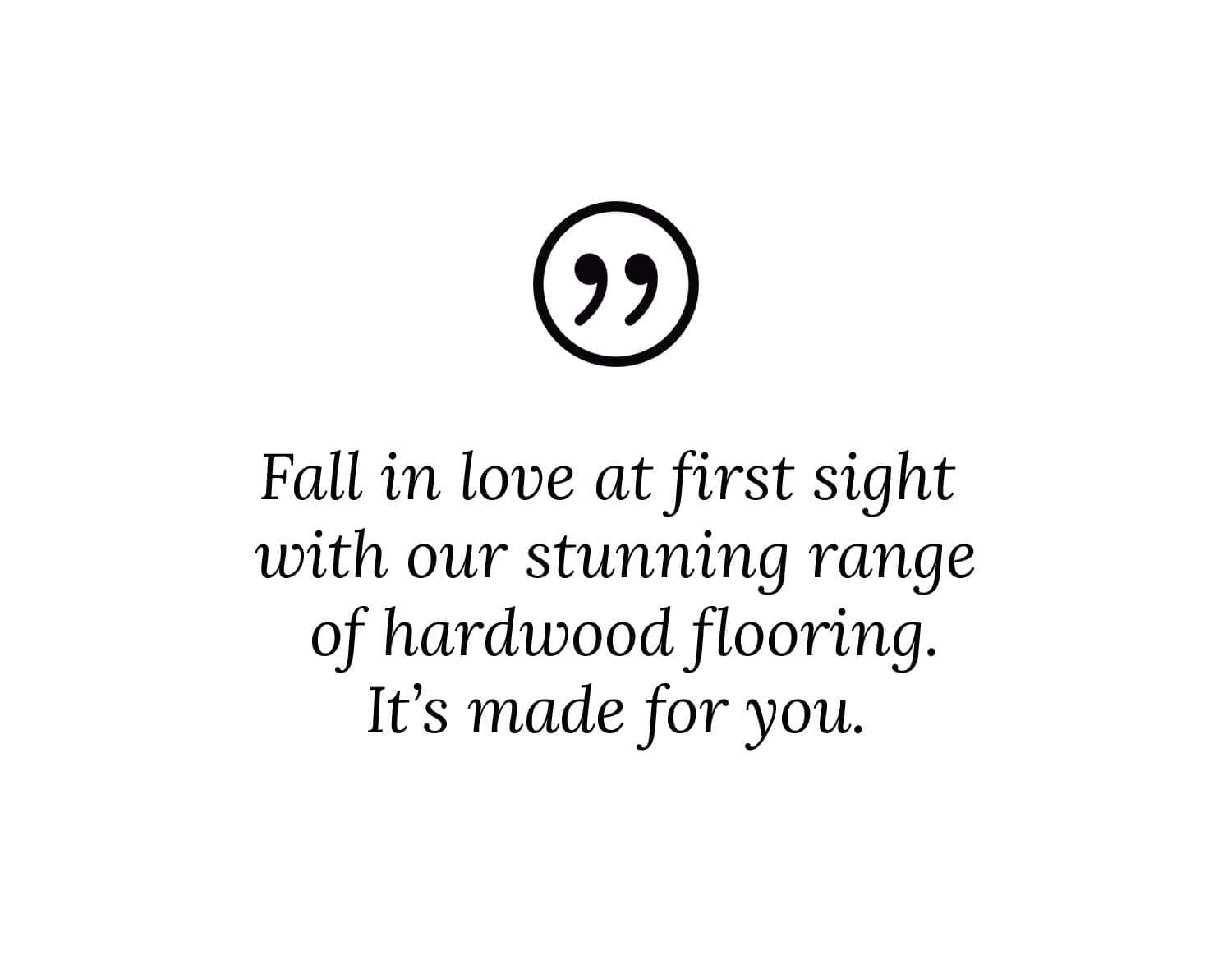 Forestry Timber-Fall in love at first sight