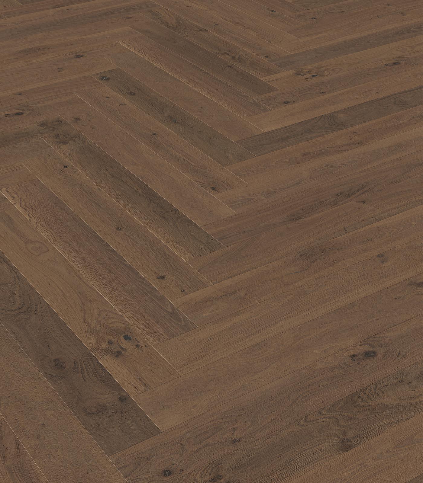 Verona-Western European oak flooring-Fashion Collection-Herringbone-angle