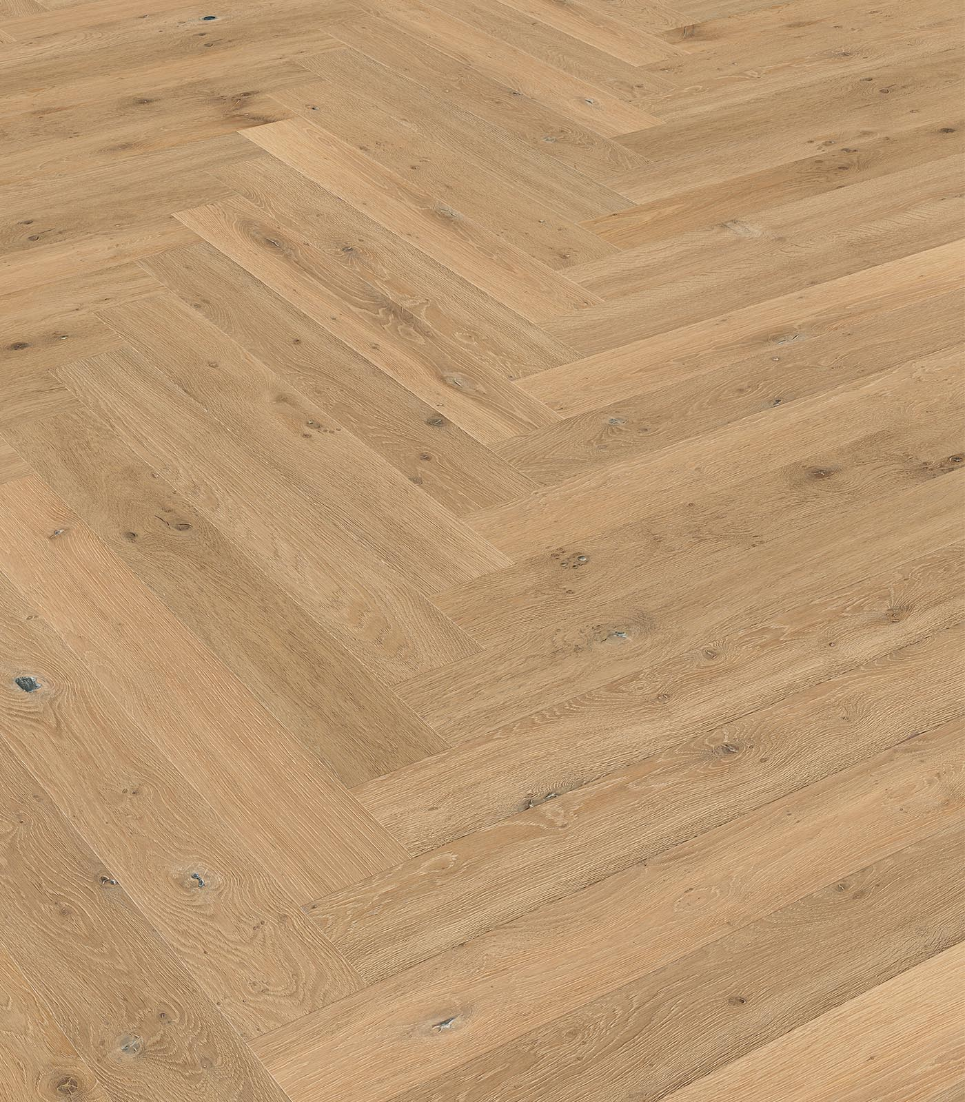 Western European oak floors-Fashion Collection-Herringbone-Bergen-angle